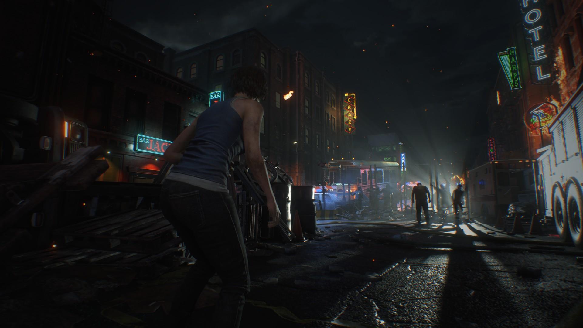 Wallpaper Resident Evil 3 Remake Resident Evil Video Games