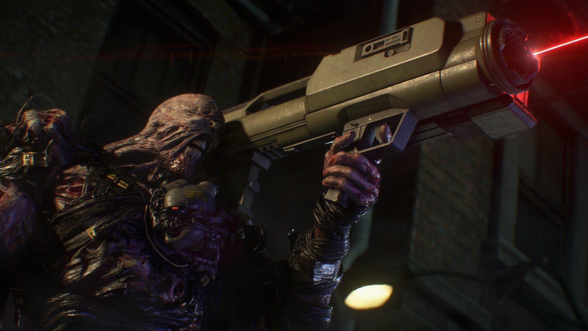 Wallpaper Resident Evil 3 Remake Video Games Creature Nemesis
