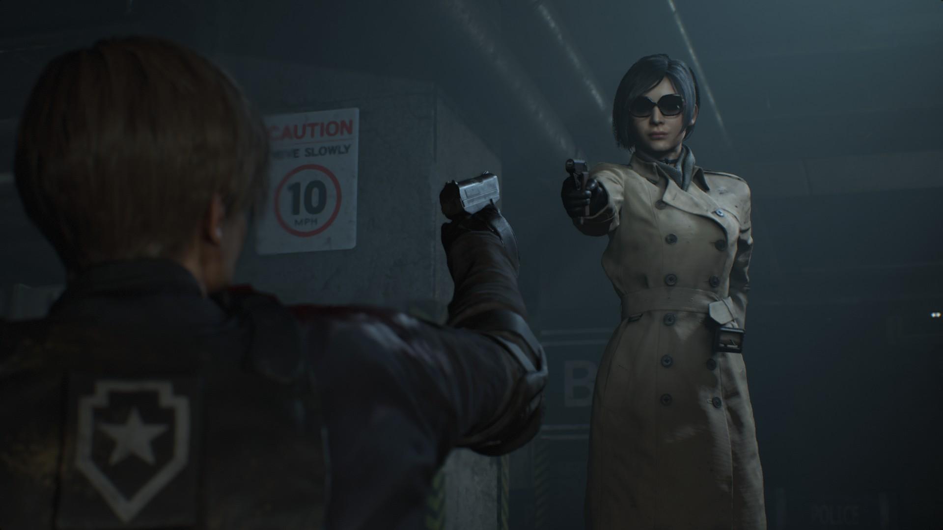 デスクトップ壁紙 Resident Evil 2 Remake バイオハザード2 レオン