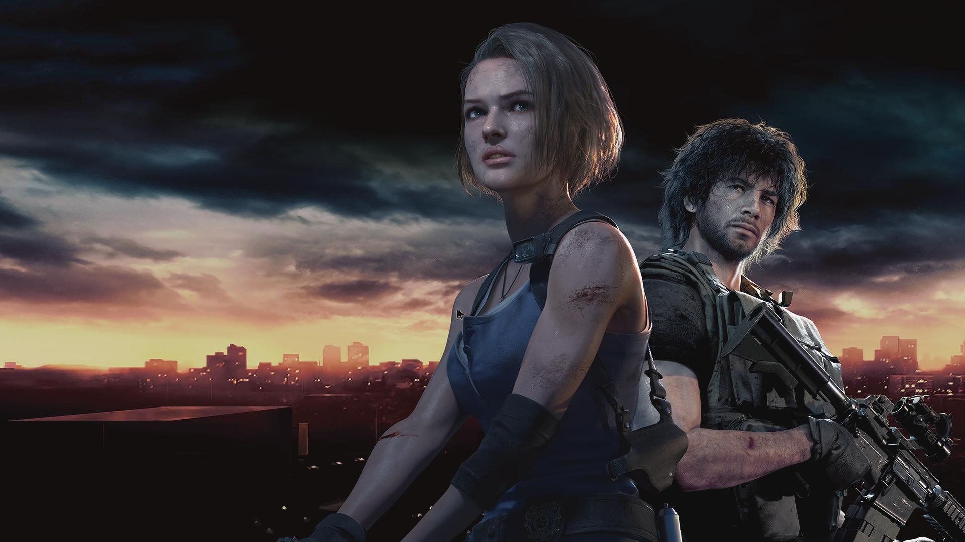 Wallpaper Resident Evil 3 Resident Evil Jill Valentine