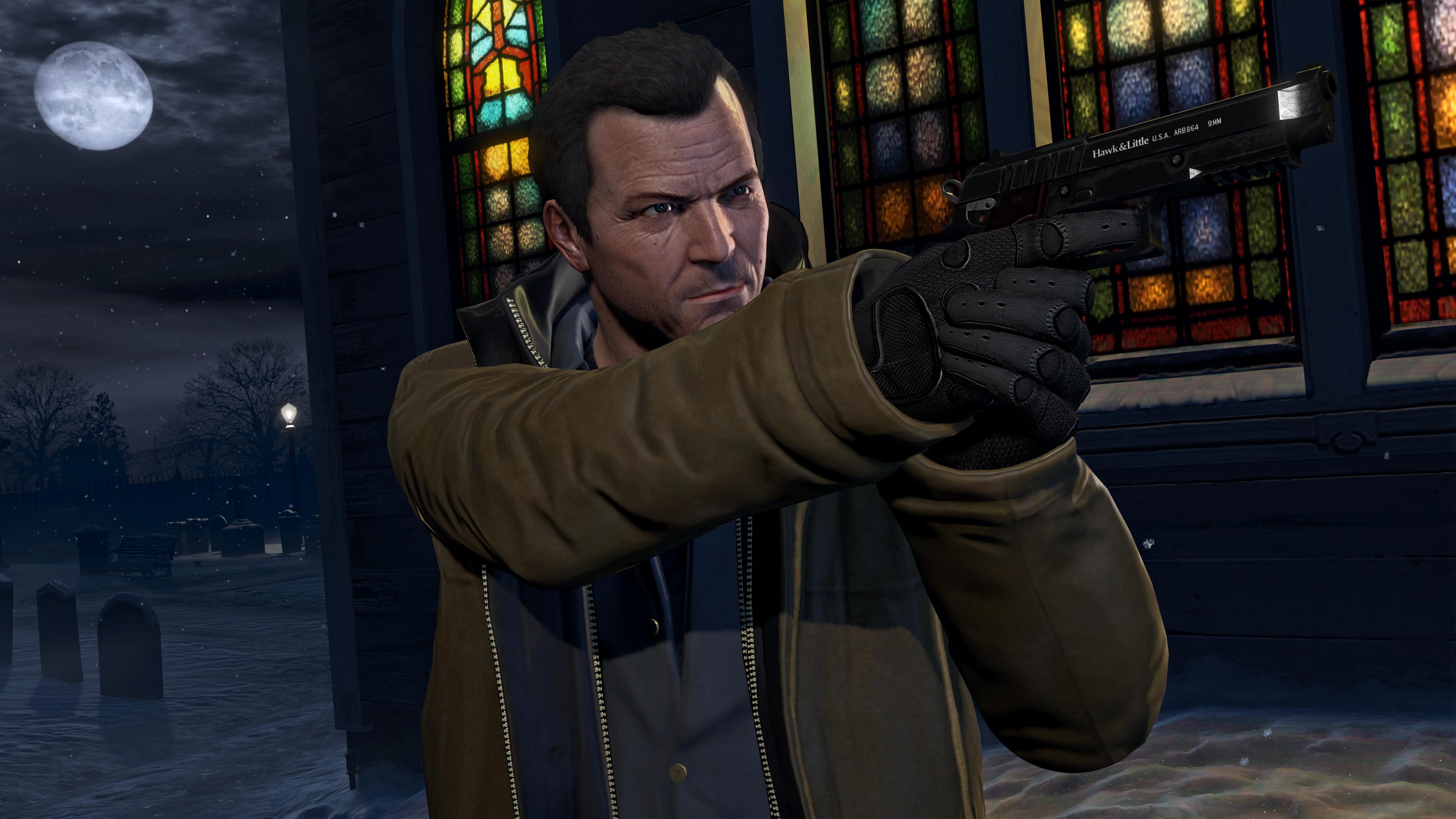 Rockstar Games Grand Theft Auto V Video Michael De Santa