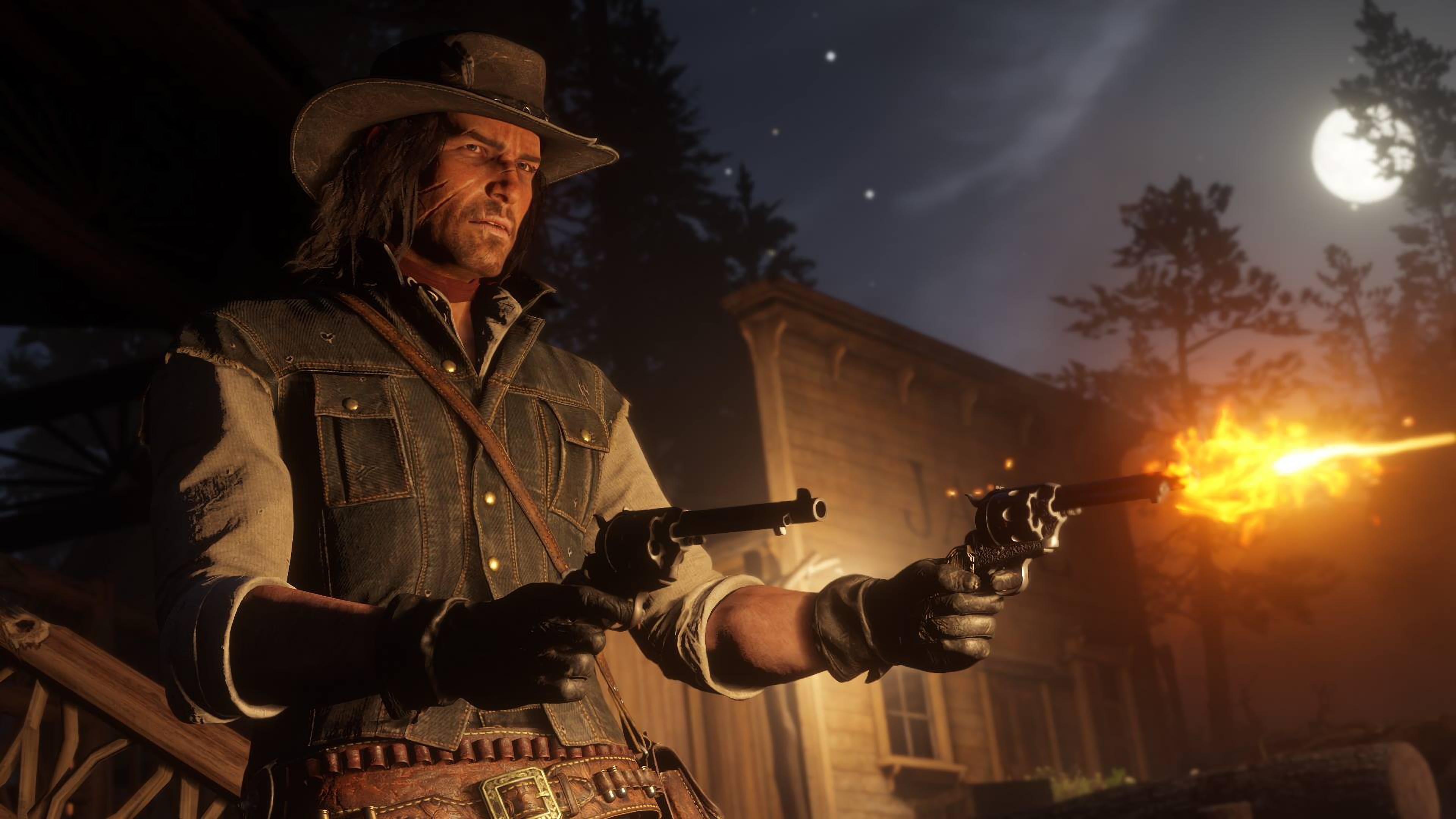 Wallpaper Rockstar Games John Marston Red Dead