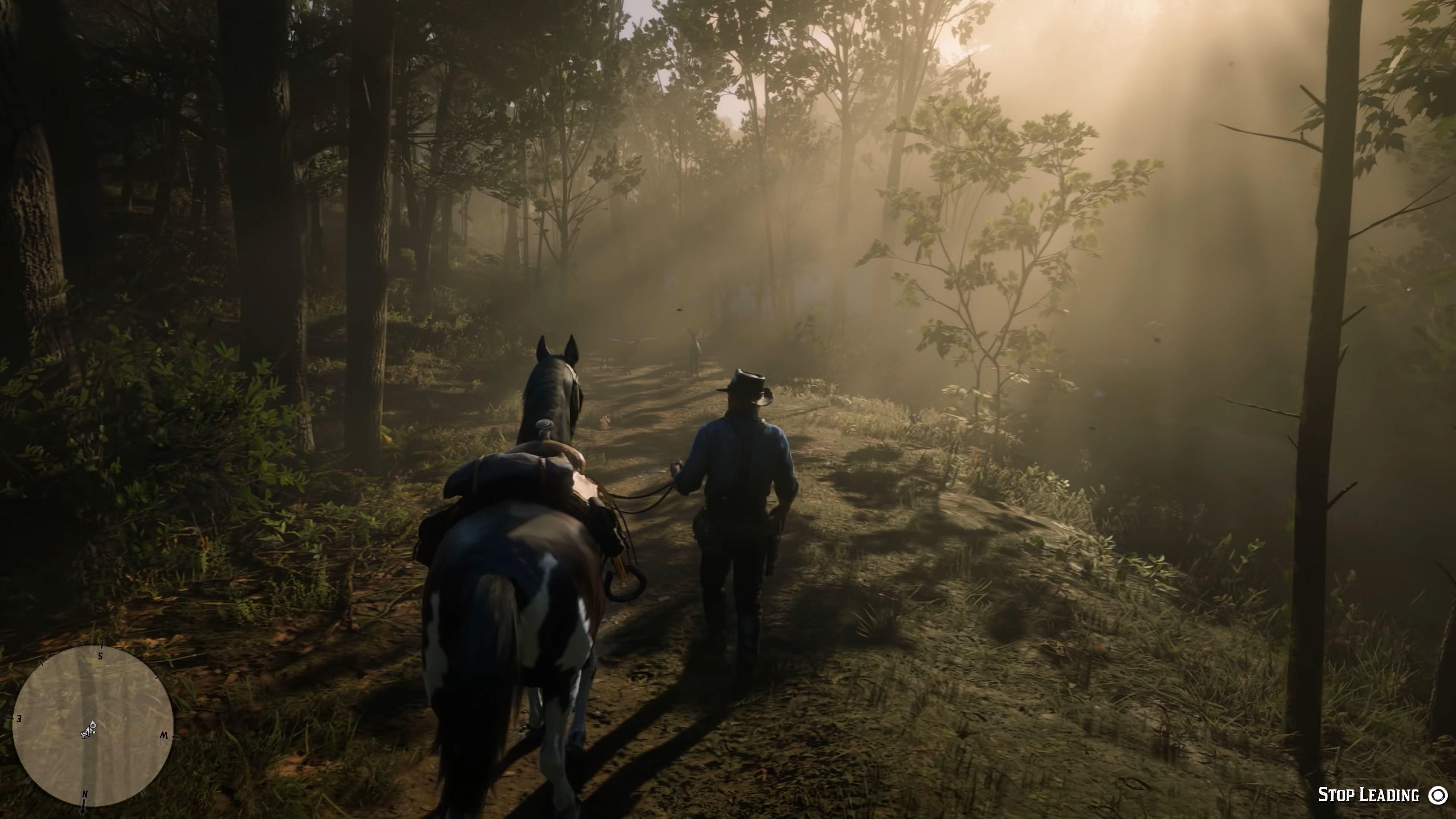 Wallpaper Rockstar Games Red Dead Redemption 2 Video