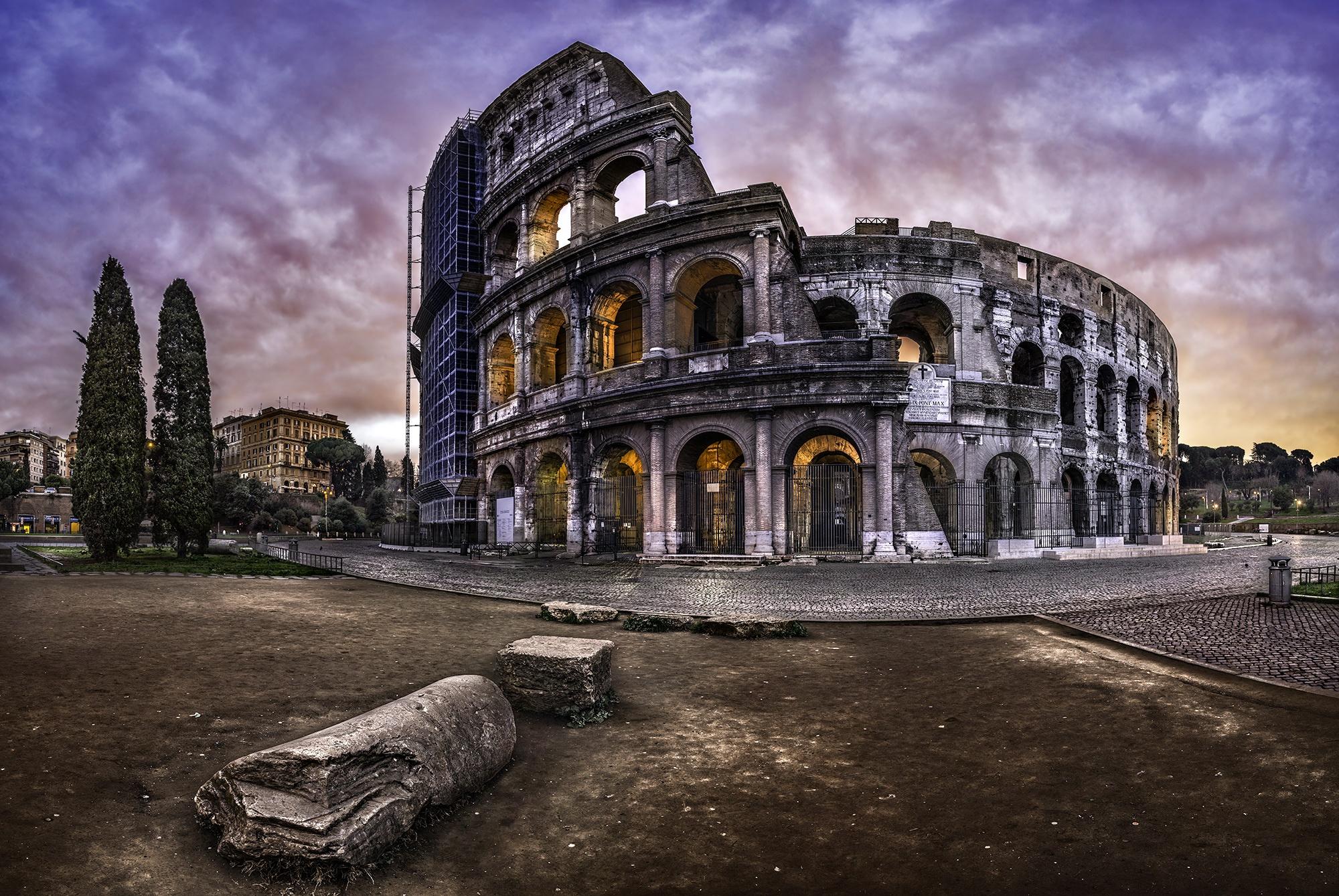 デスクトップ壁紙 ローマ シティ 古代 歴史 コロッセオ 建築