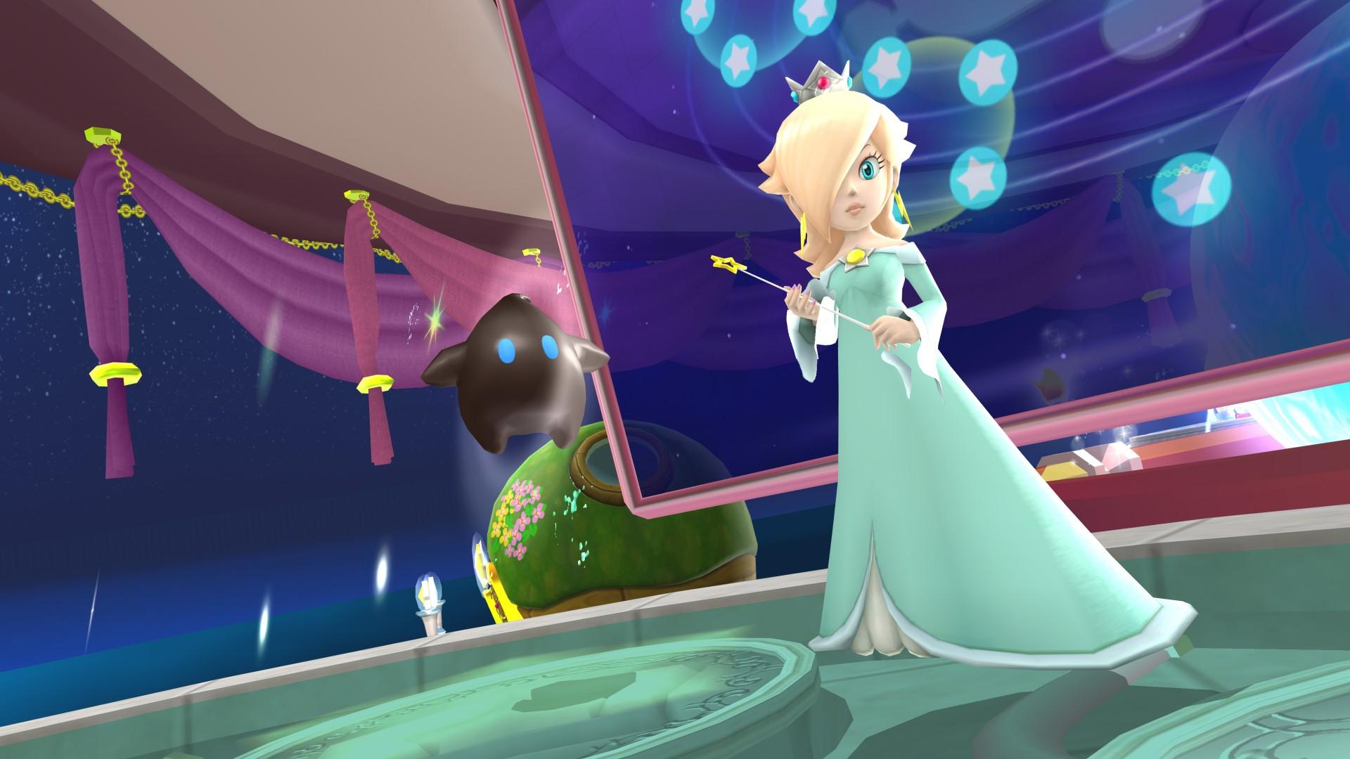 Wallpaper Luma Mario Bros Character Princess Rosalina Mario Series Super Mario Galaxy 1920x1080 Djdeejay 1843857 Hd Wallpapers Wallhere