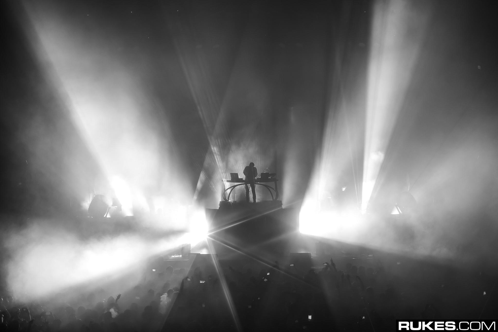 Rukes nhiếp ảnh DJ Đèn Hình bóng