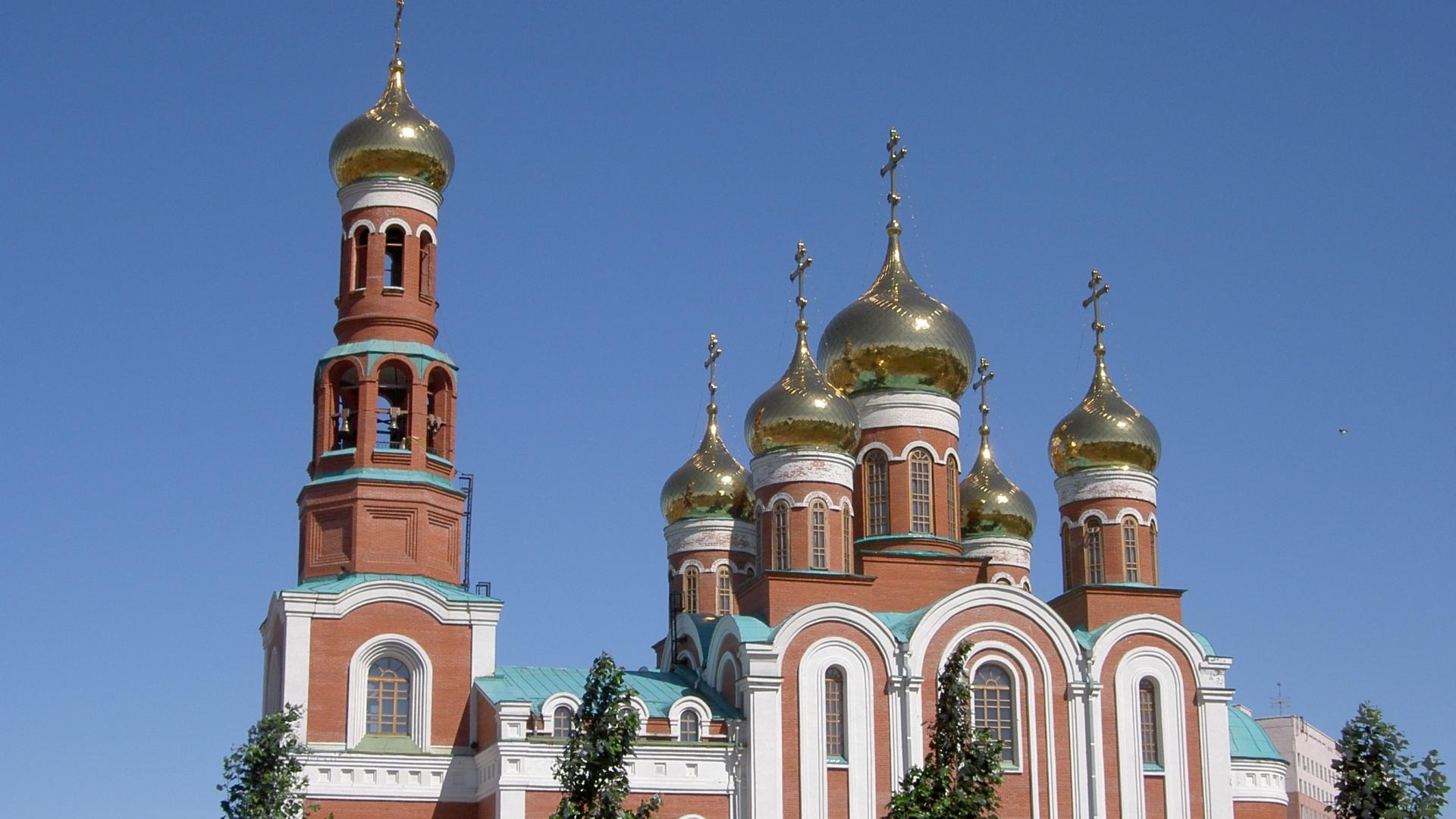 Обои церковь, купол. Города foto 16