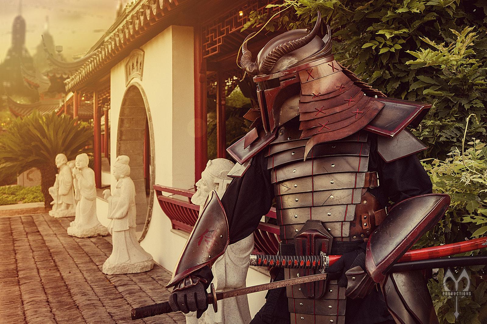 Wallpaper Sam Mort 500px Samurai Katana Warrior
