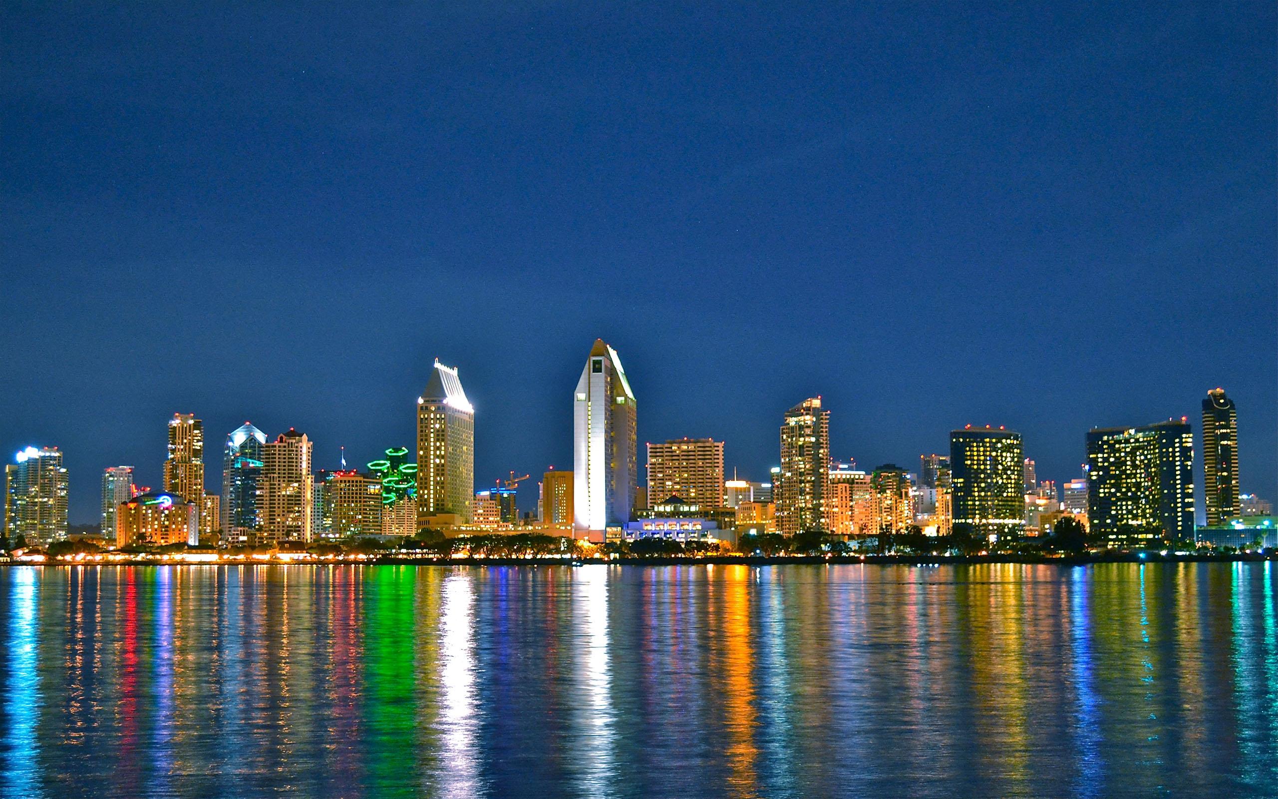 Wallpaper San Diego Downtown Skyline California Usa 2560x1600 662721 Hd Wallpapers Wallhere