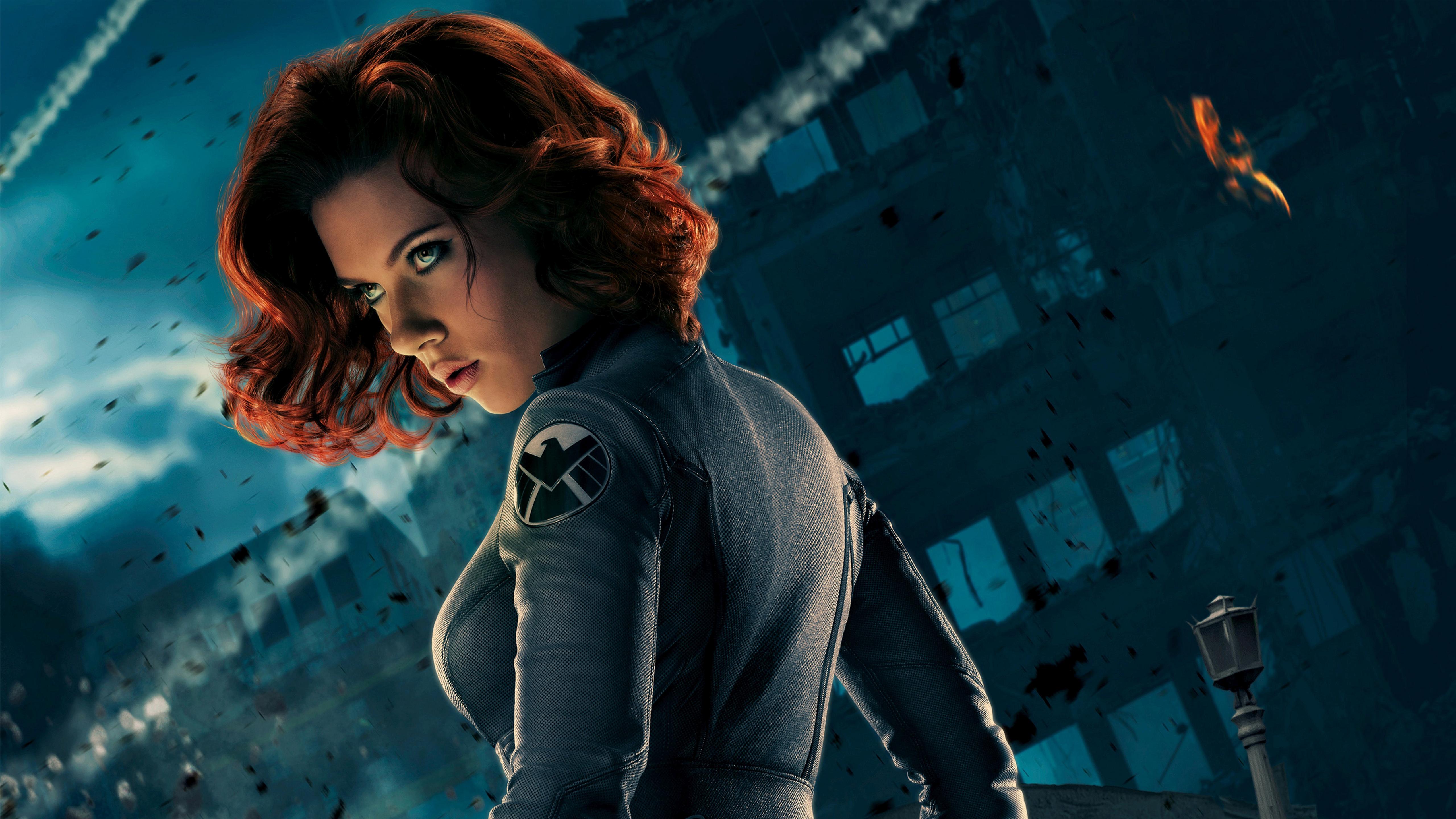 Wallpaper : Scarlett Johansson, actor, women, Black Widow