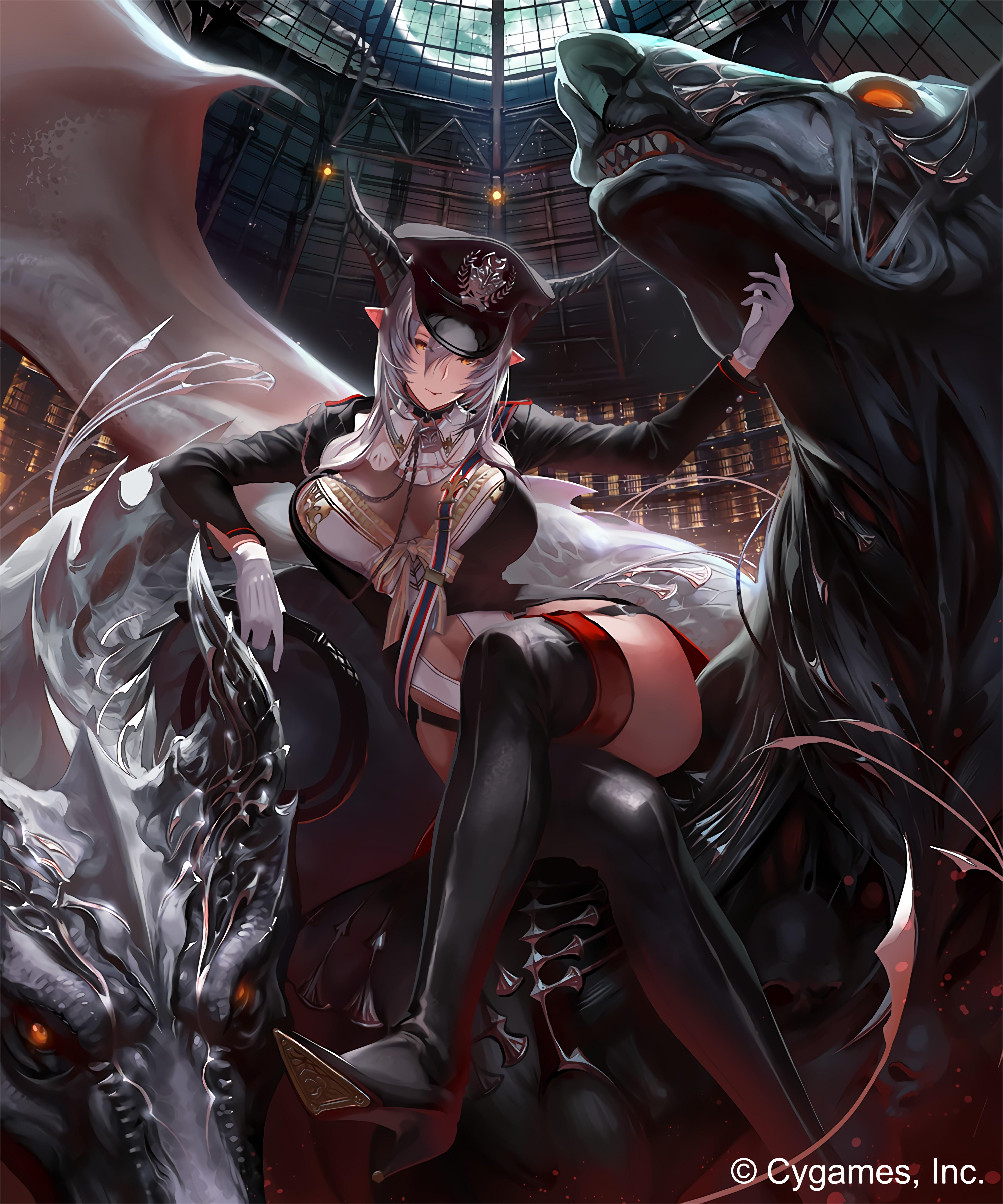 Wallpaper : Shingeki no Bahamut, Beast Dominator Shingeki