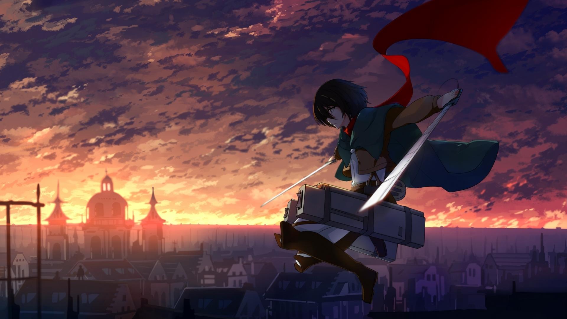 Hintergrundbilder Shingeki Kein Kyojin Mikasa Ackerman