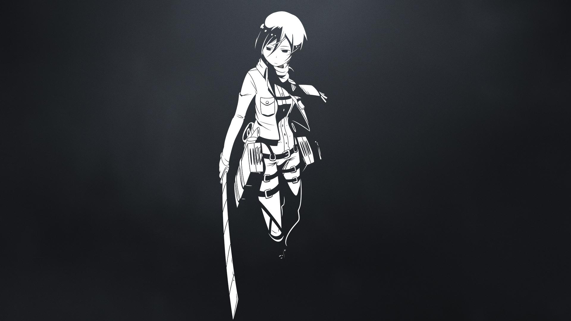 Wallpaper Shingeki No Kyojin Mikasa Ackerman Anime Girls 1920x1080 Mm88 1380019 Hd Wallpapers Wallhere