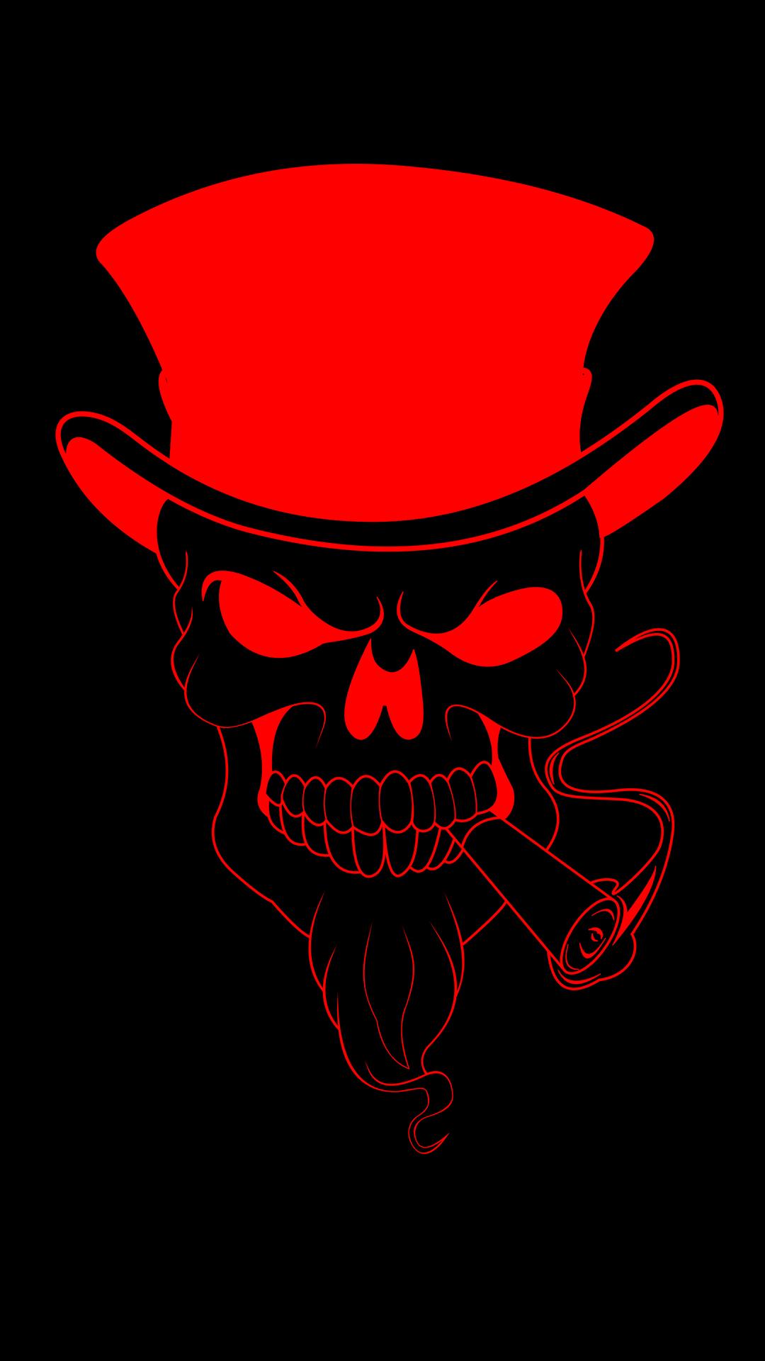 Wallpaper : Skull Bones, red, eyes