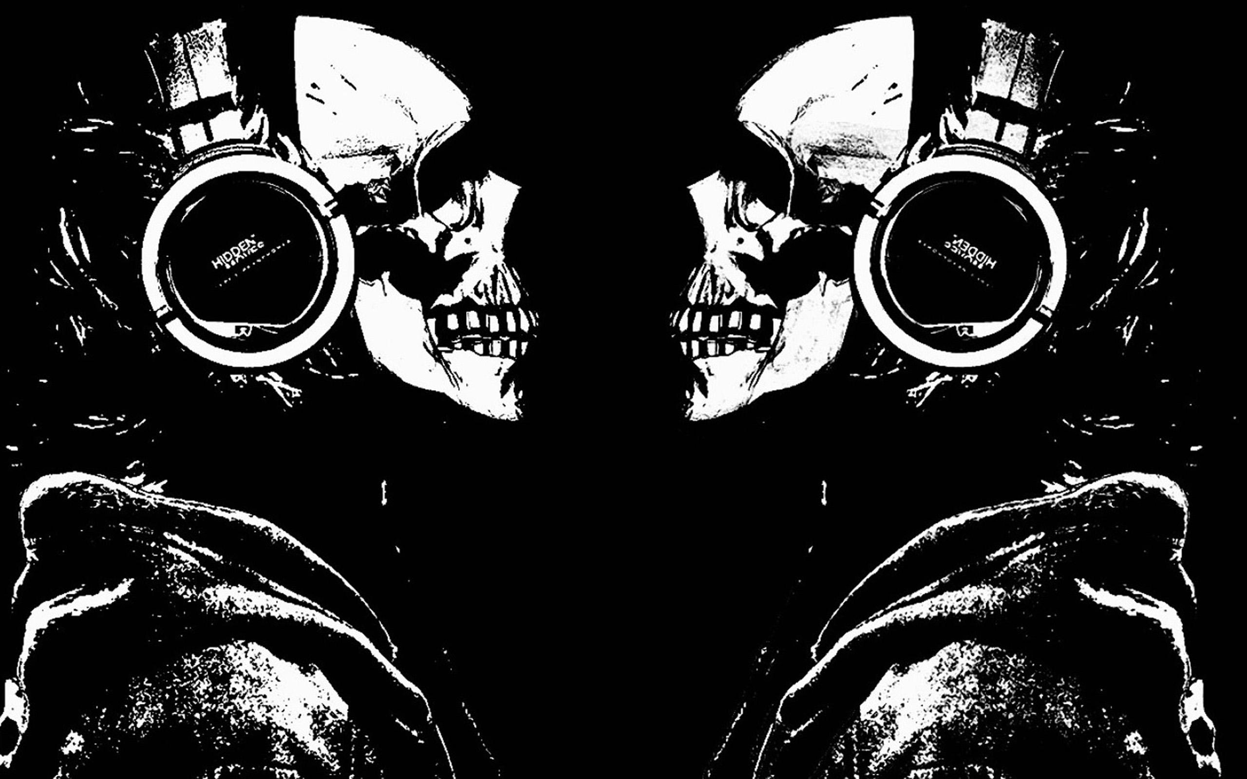 デスクトップ壁紙 スカルフェイス 頭蓋骨 スケルトン ジョーズ