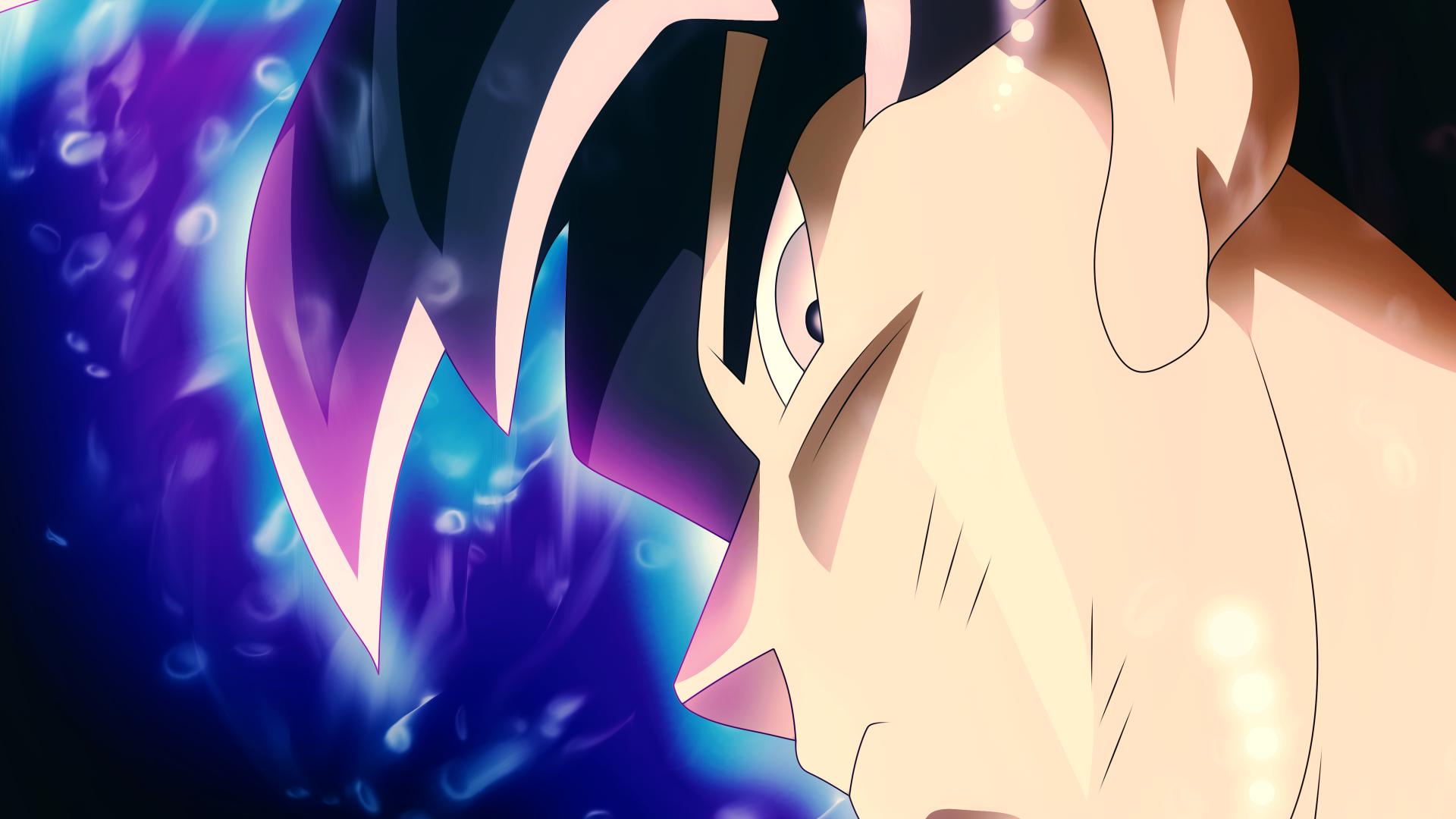 Wallpaper Son Goku Dragon Ball Super Ultra Instinct Dragon