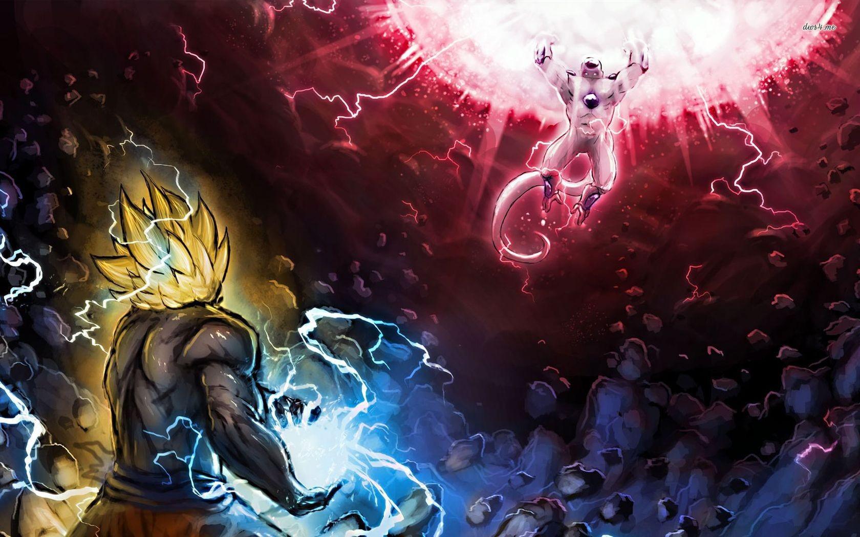 Epic Dbz Wallpapers High Resolution: Wallpaper : Son Goku, Dragon Ball Z, Kamehameha, Frieza