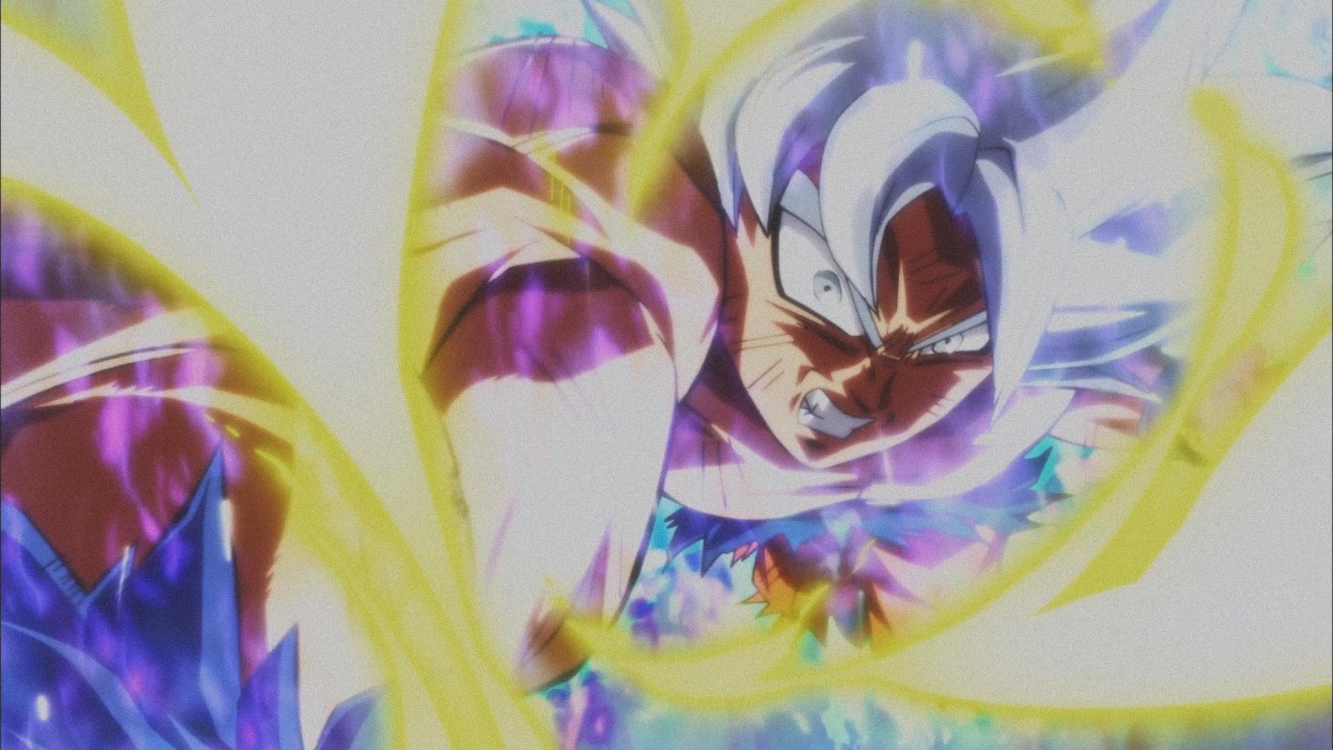 Wallpaper Son Goku Vegeta Dragon Ball Super Saiyan Blue