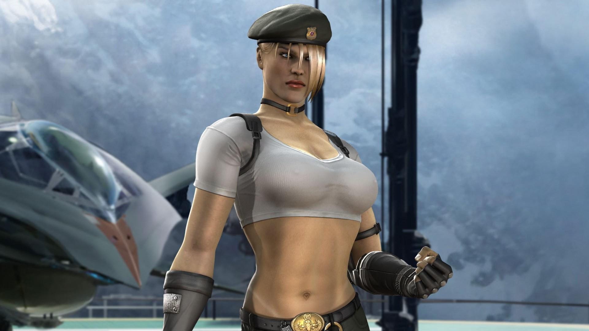 Wallpaper Sonya Blade Mortal Kombat Video Games