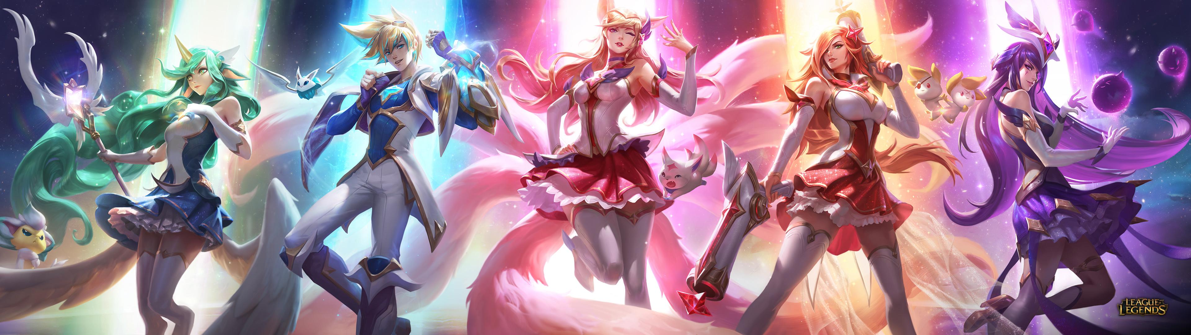 Wallpaper Soraka League Of Legends Summoner S Rift League Of