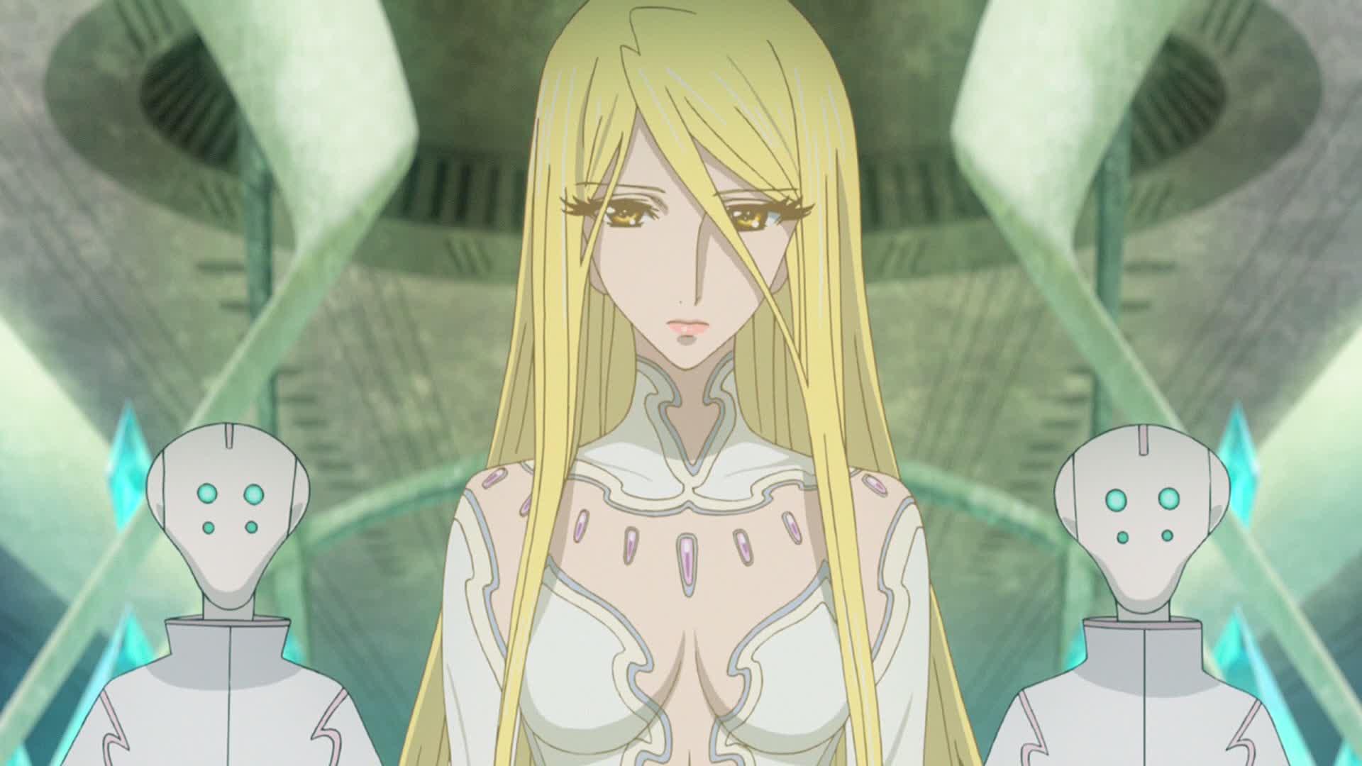 Wallpaper Space Battleship Yamato 2199 Iscandar Starsha Anime