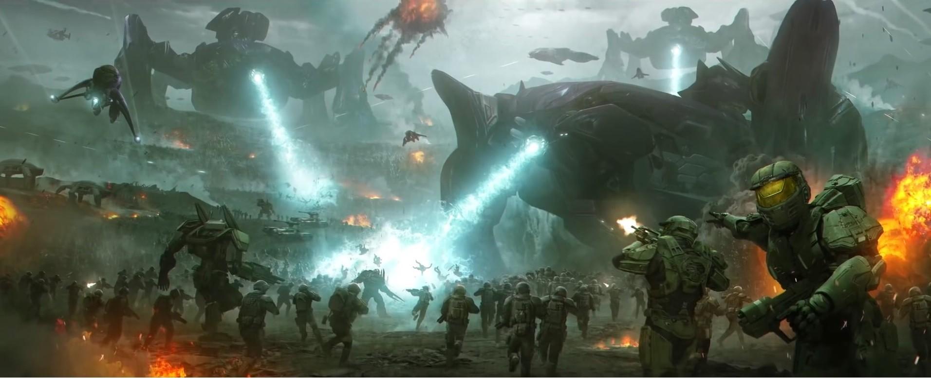 Spartans Halo Games Screenshot Computer Wallpaper Pc Game Wars 2