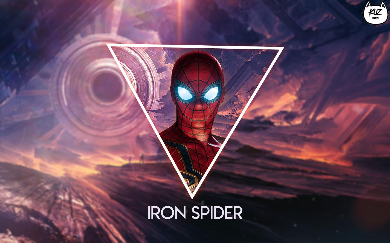 Wallpaper : Spider Man, Avengers Infinity war, Iron Spider