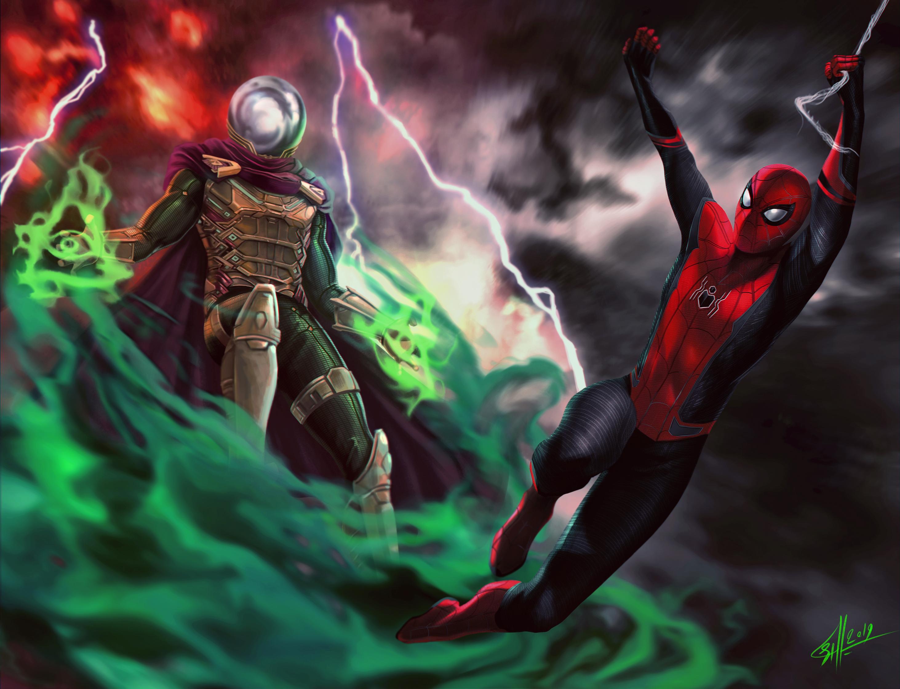 デスクトップ壁紙 Spider Man Far From Home トムホランド