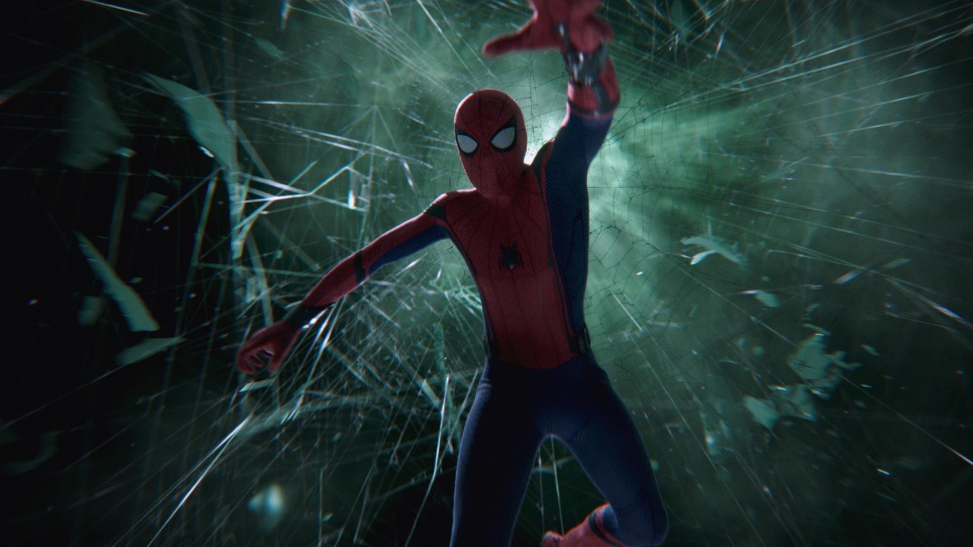 Wallpaper Spider Man Far From Home Tom Holland Spider Man