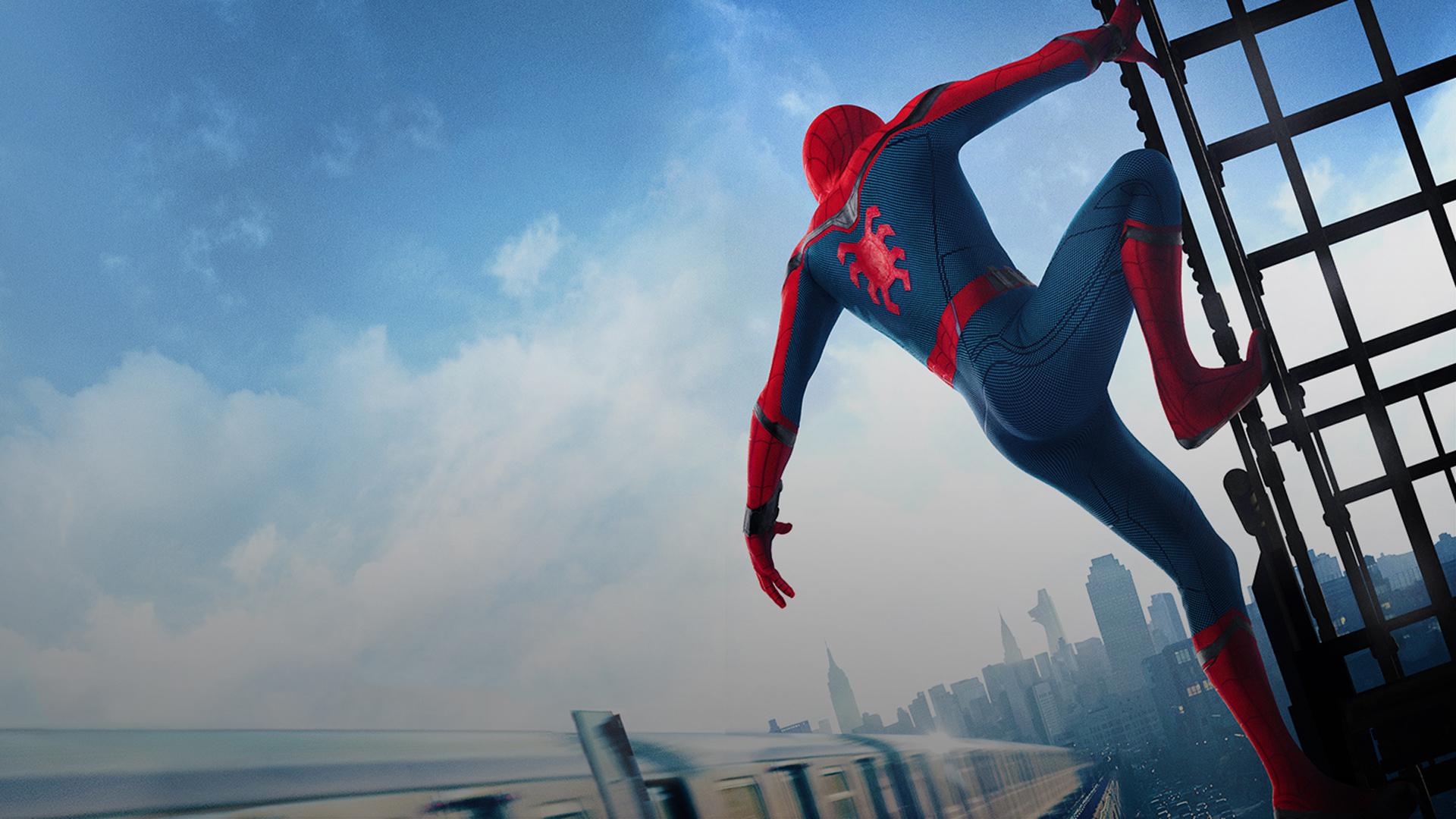 Wallpaper Spider Man Homecoming 2017 Spider Man 1920x1080