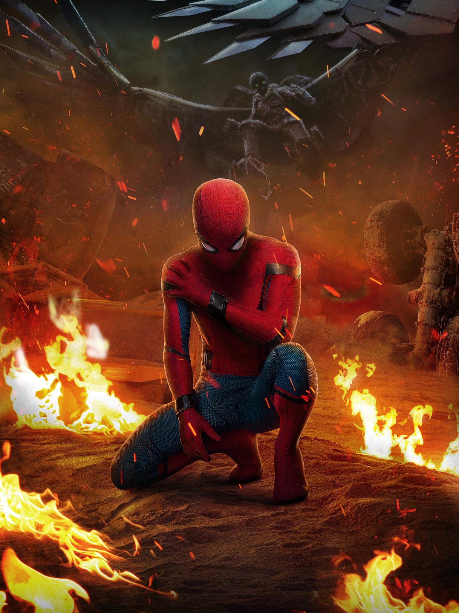 Hintergrundbilder Spider Man Heimkehr Film Peter Parker