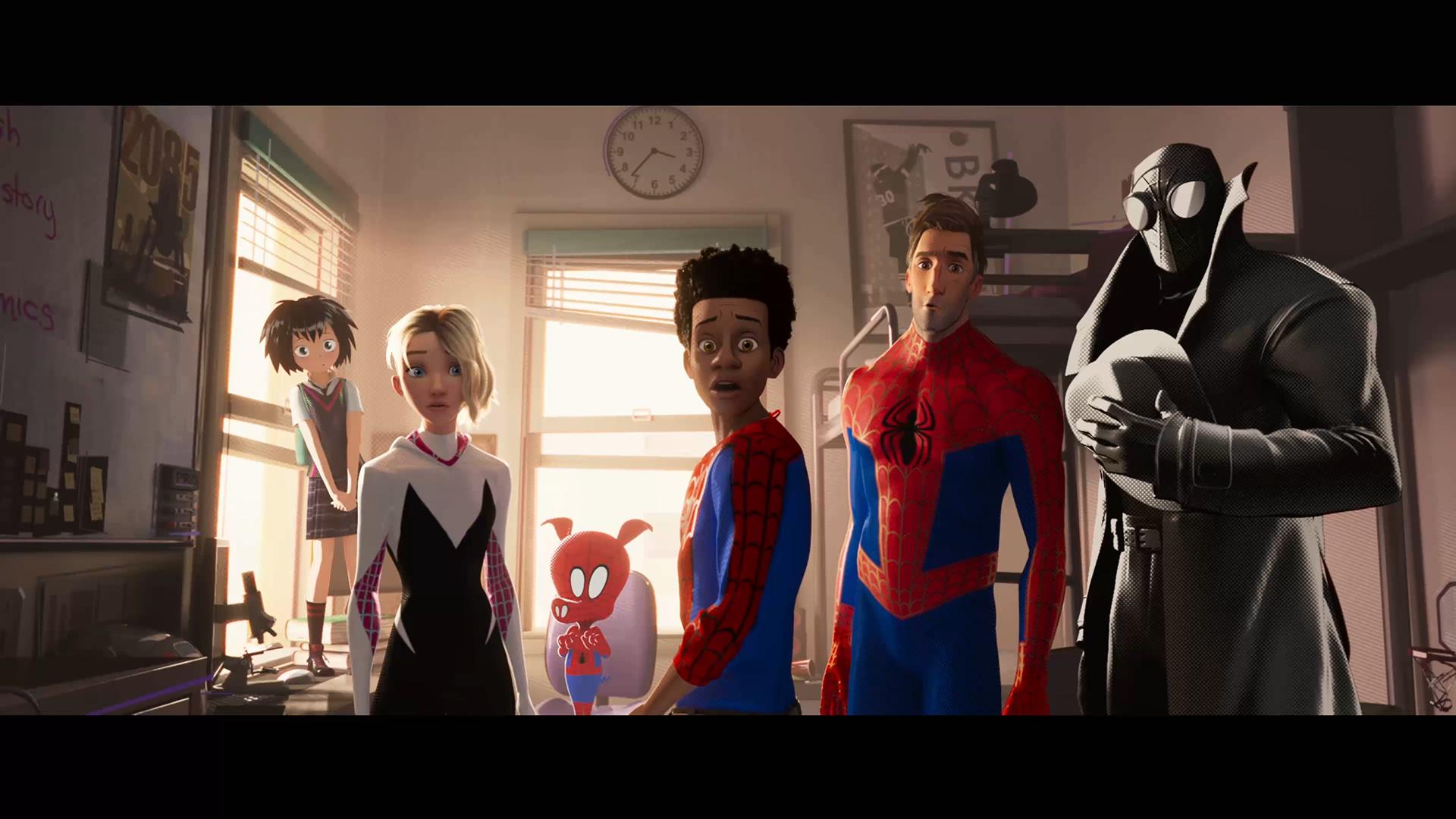 Wallpaper Spider Man Peter Parker Miles Morales Spider Gwen