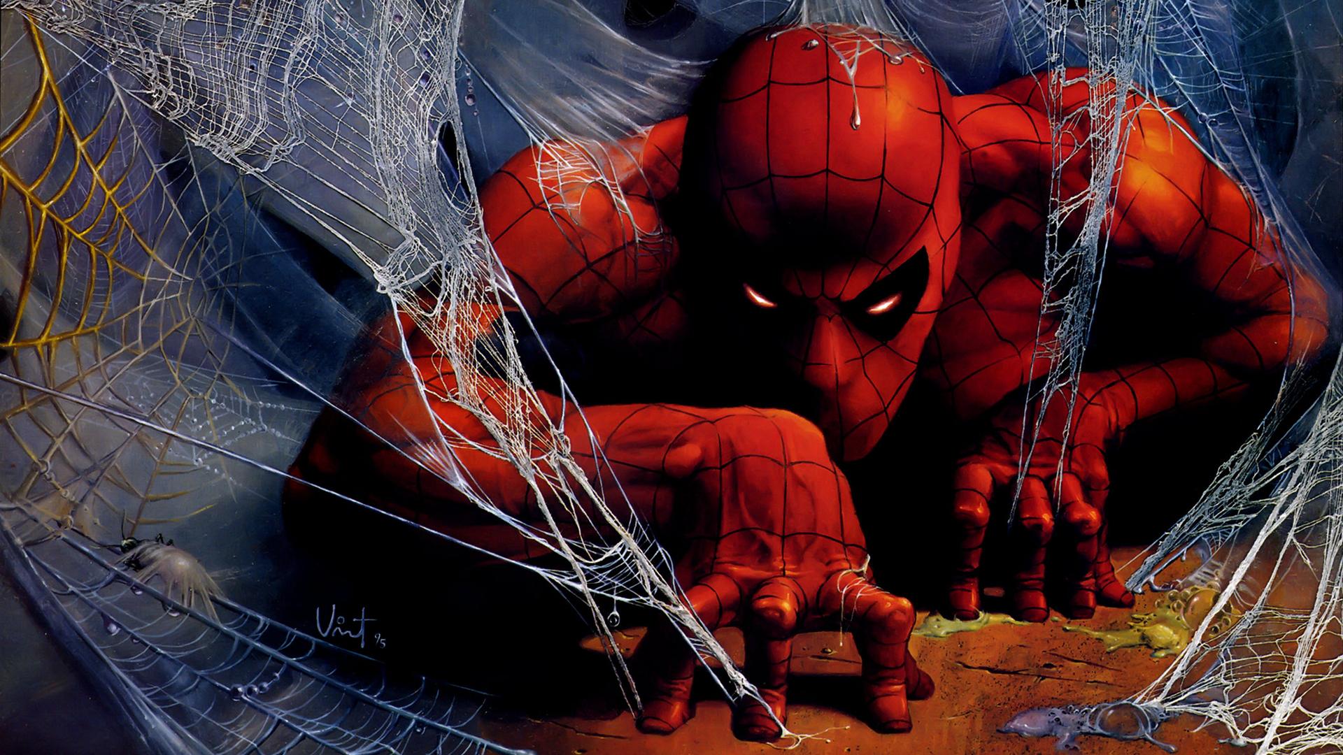 Wallpaper spider man spiderman web art 1920x1080 - Images spiderman ...