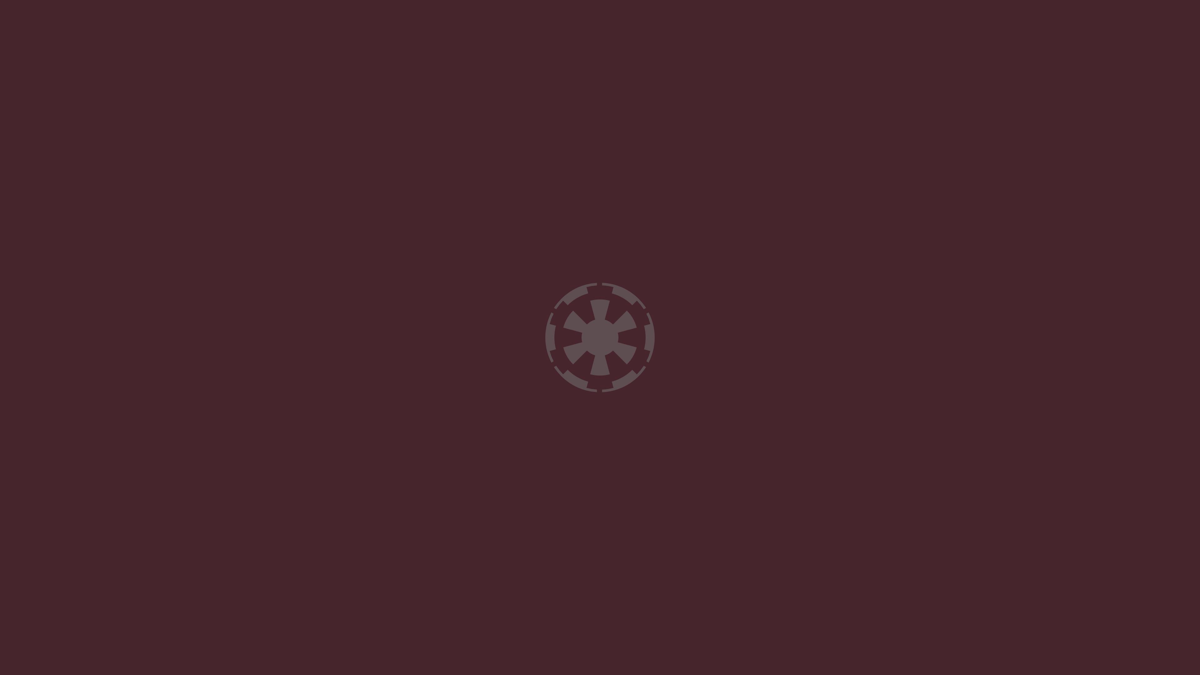 Star Wars Galactic Empire minimalism 1826819