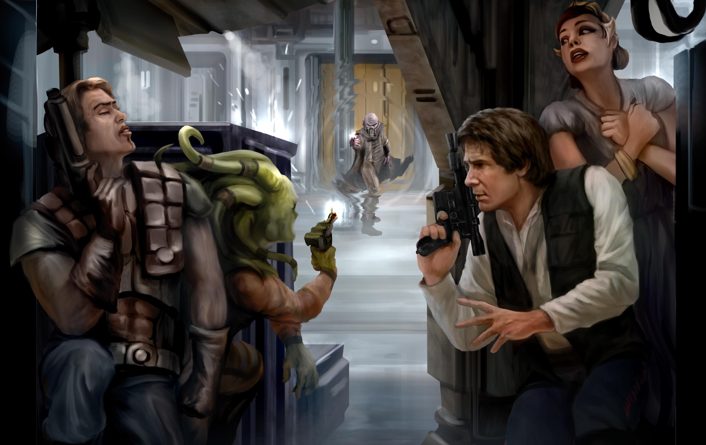 Wallpaper Star Wars Han Solo Dash Rendar 2970x1872 Tomaboy