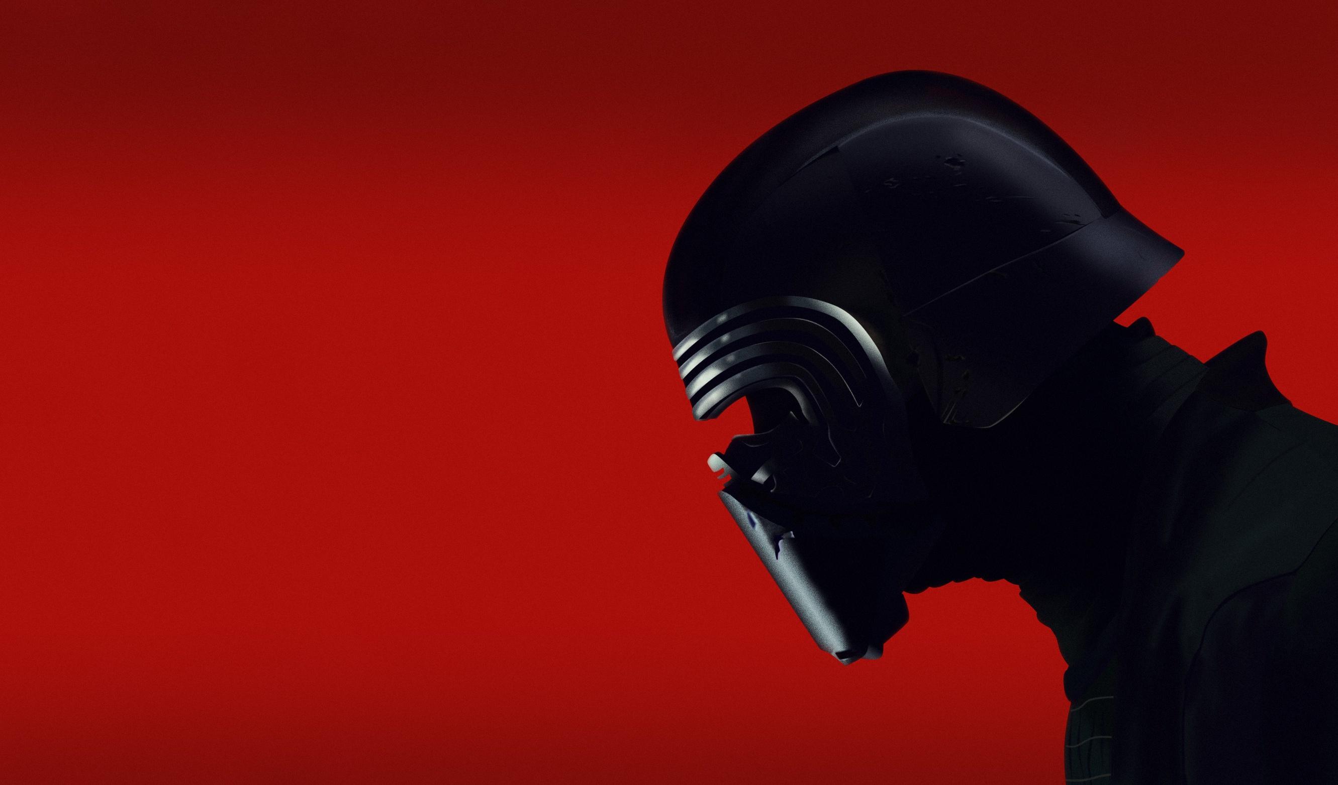 Star Wars Kylo Ren red background Star Wars Villains helmet 1562529