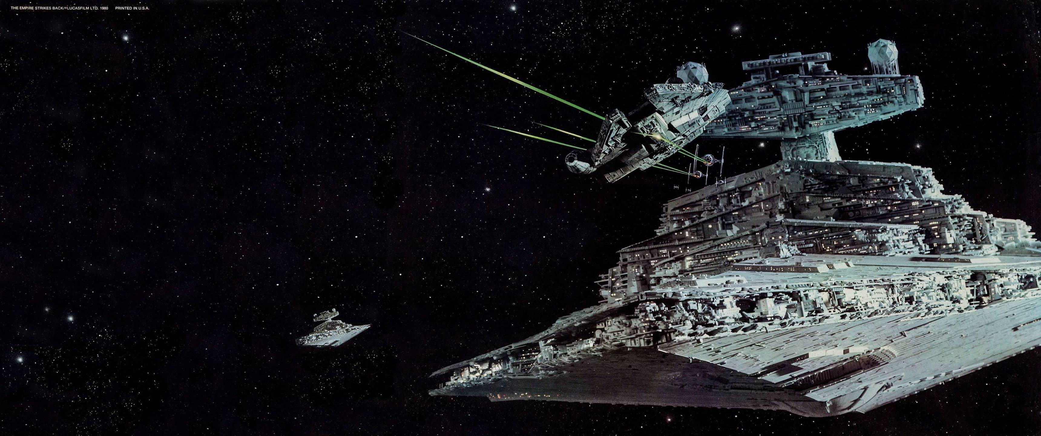 Wallpaper Star Wars Millennium Falcon Star Destroyer 3440x1440 Lumia 1332641 Hd Wallpapers Wallhere