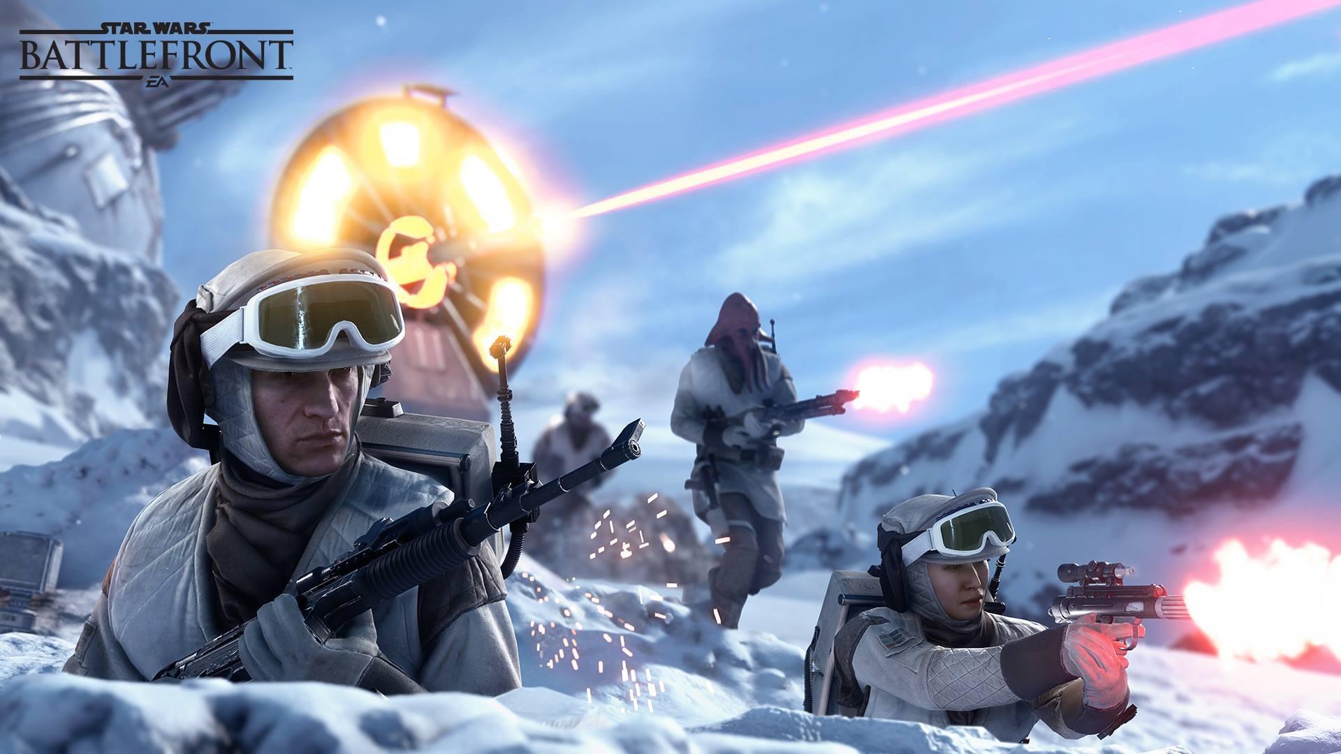 Wallpaper Star Wars Rebel Alliance Battle Of Hoth Star Wars