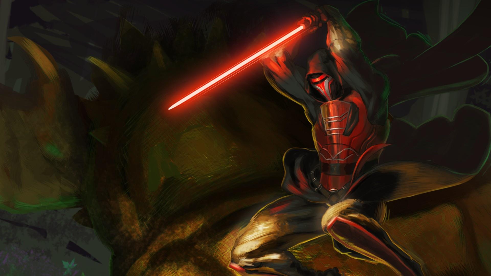 Wallpaper Star Wars Darth Revan Star Wars Knights Of The Old Republic Lightsaber Sith 1920x1080 Felixal 1225115 Hd Wallpapers Wallhere