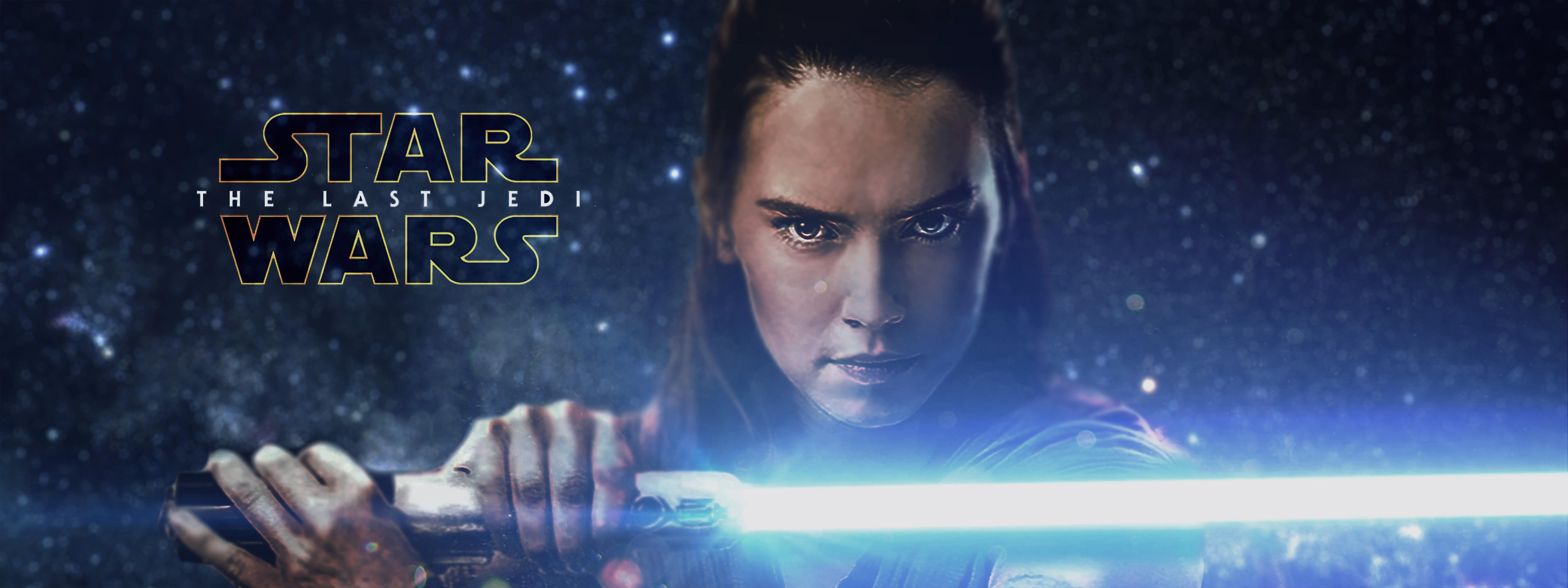 Wallpaper Star Wars Star Wars The Last Jedi Rey From Star Wars