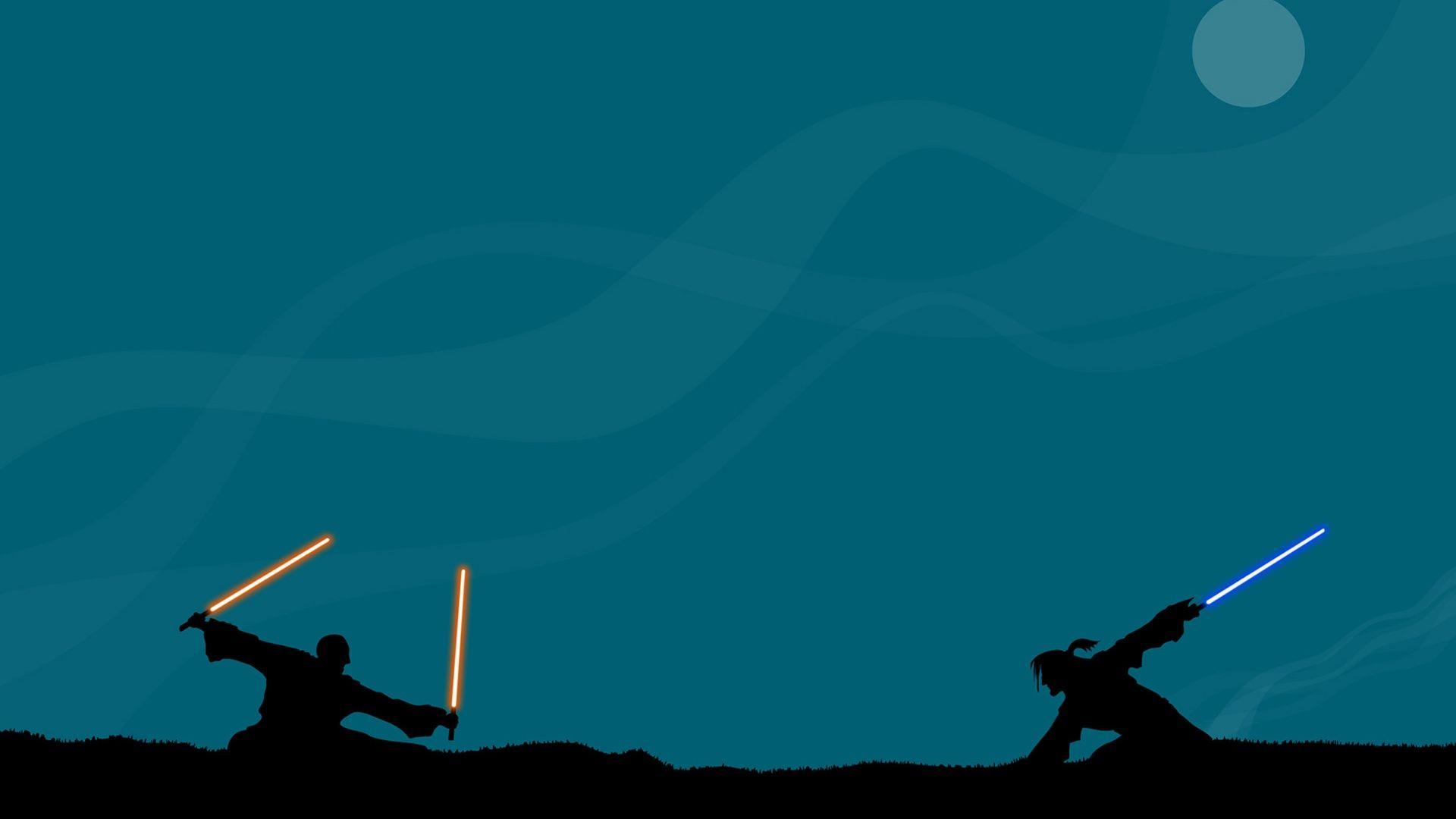 Wallpaper Star Wars Star Wars The Last Jedi Star Wars Battlefront Rogue One A Star Wars Story Star Wars The Force Awakens Minimalism Laser Swords Moon 1920x1080 Sarma 1151481 Hd Wallpapers Wallhere