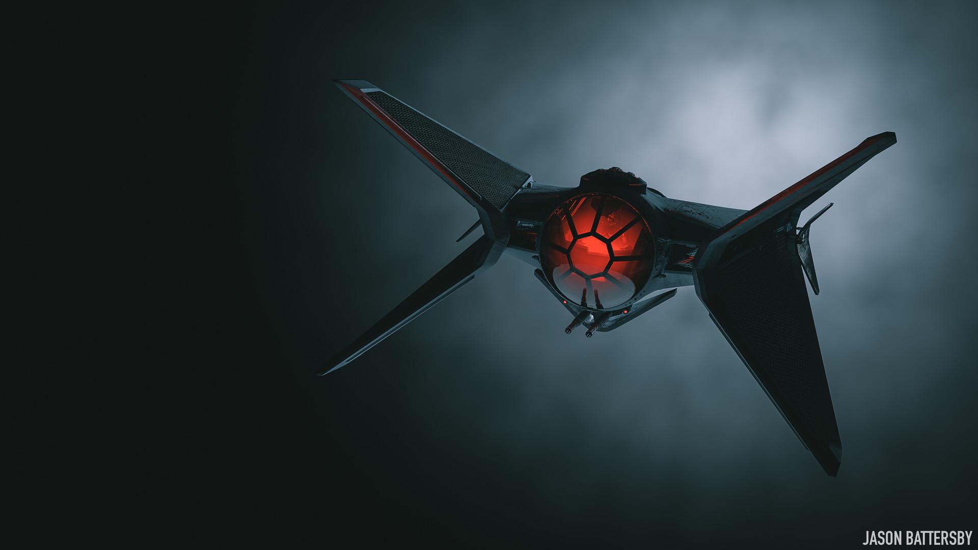Wallpaper Star Wars Tie Fighter Concept Art Digital Art