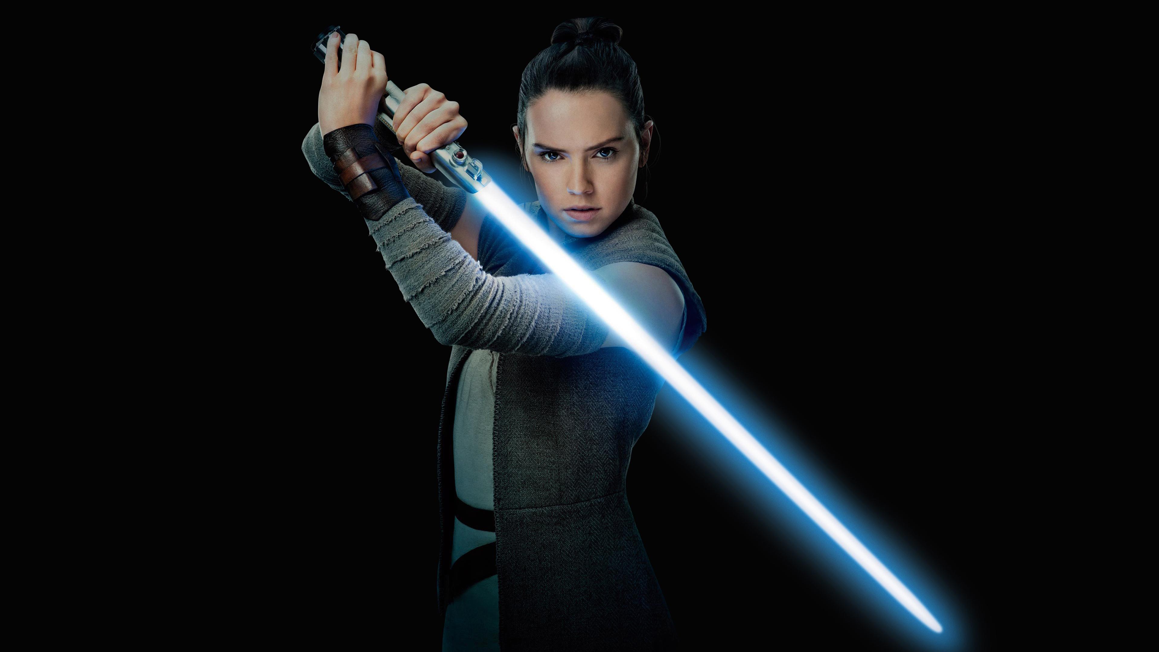 Wallpaper Star Wars The Last Jedi Star Wars Rey From Star Wars
