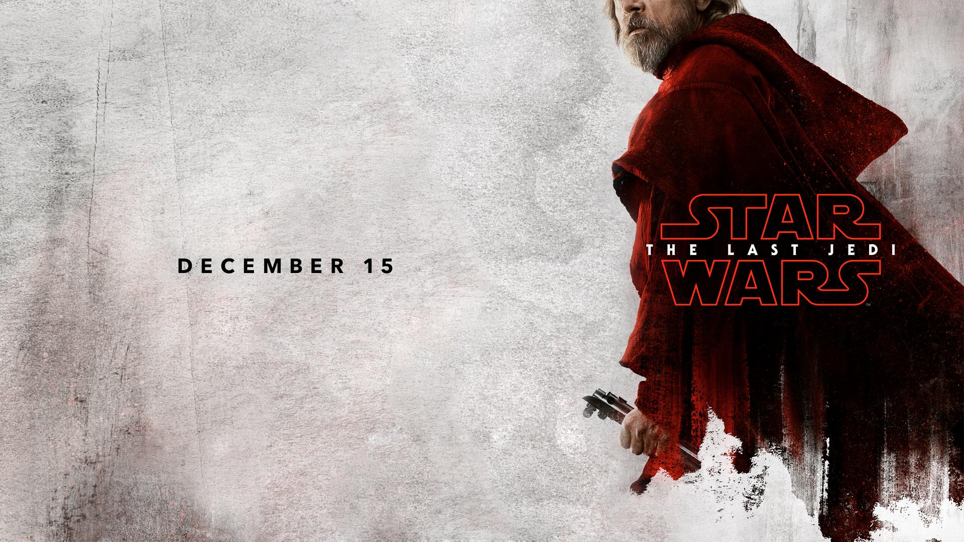 Wallpaper Star Wars The Last Jedi Movies Luke Skywalker