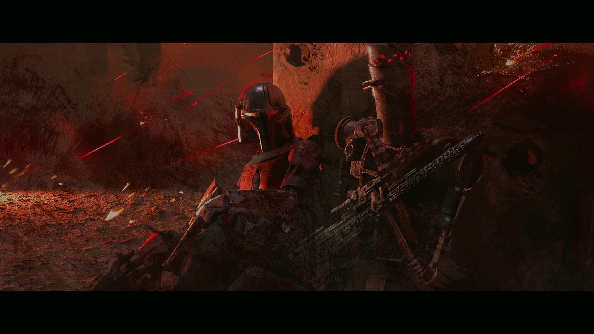 Star Wars The Mandalorian tv series Star Wars Droids frescoes 1703021