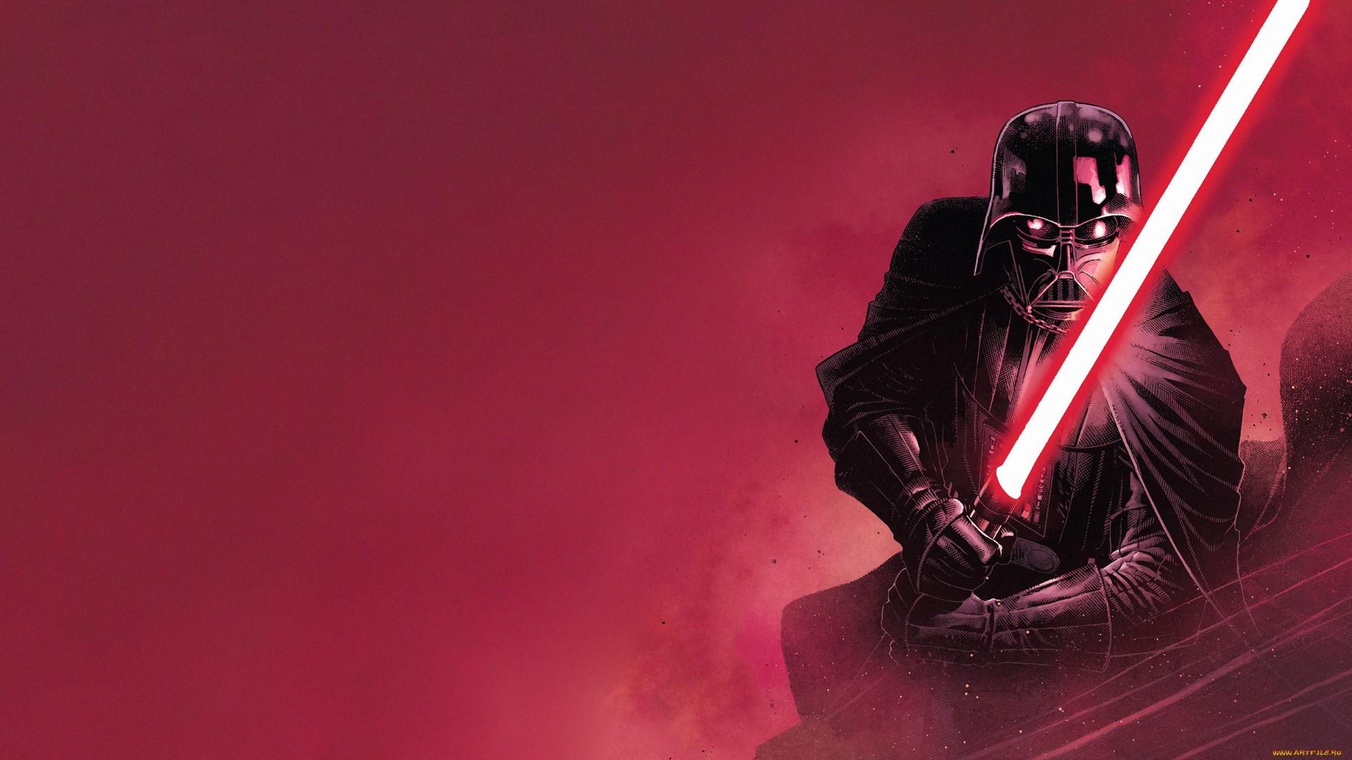 Wallpaper Star Wars Villains Darth Vader Sith Lightsaber Science Fiction 1920x1080 Wallpapermaniac 1560727 Hd Wallpapers Wallhere
