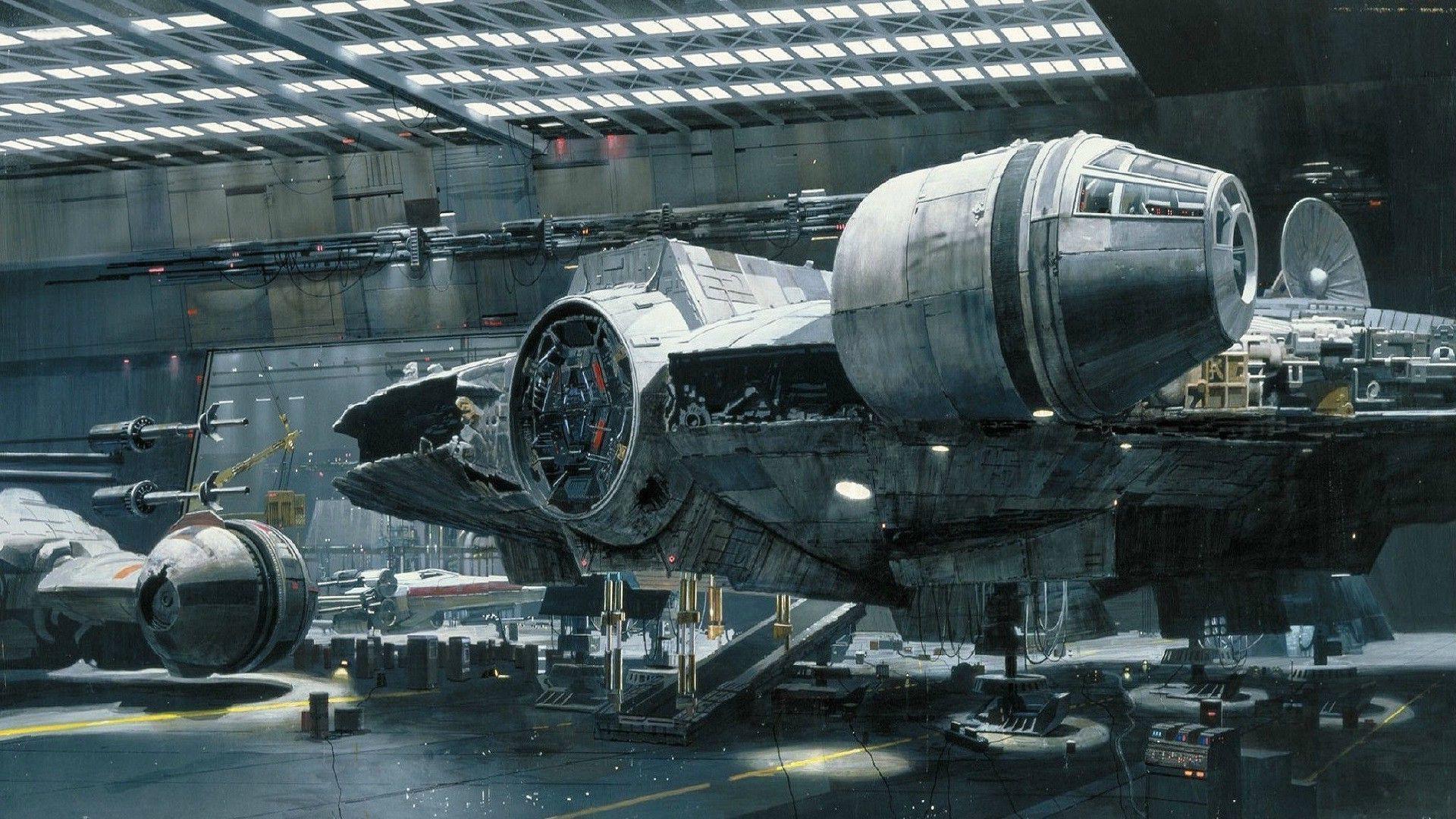 Wallpaper Star Wars Airplane Spaceship Machine Millennium Falcon Hangar Aviation Industry 1920x1080 Px Spacecraft Aircraft Engine Aerospace Engineering Jet Engine 1920x1080 787021 Hd Wallpapers Wallhere