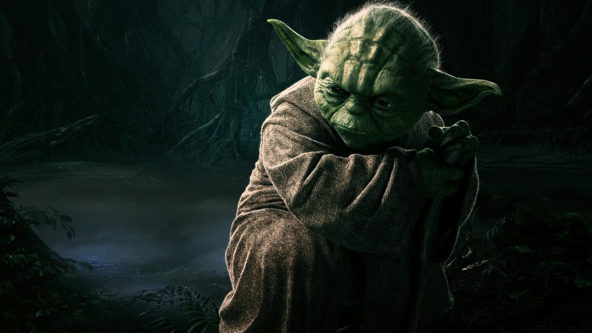 Wallpaper Star Wars Artwork Jedi Yoda Mythology Dagobah Darkness Screenshot Computer Wallpaper Fictional Character Special Effects 1920x1080 Pvris 262802 Hd Wallpapers Wallhere
