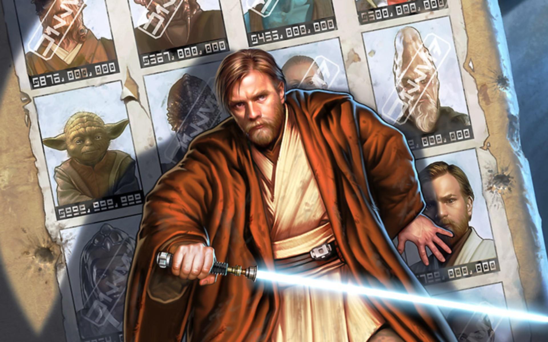 Wallpaper Star Wars Artwork Lightsaber Jedi Comics Obi Wan Kenobi Screenshot Comic Book 1920x1200 Mbourrig 223734 Hd Wallpapers Wallhere