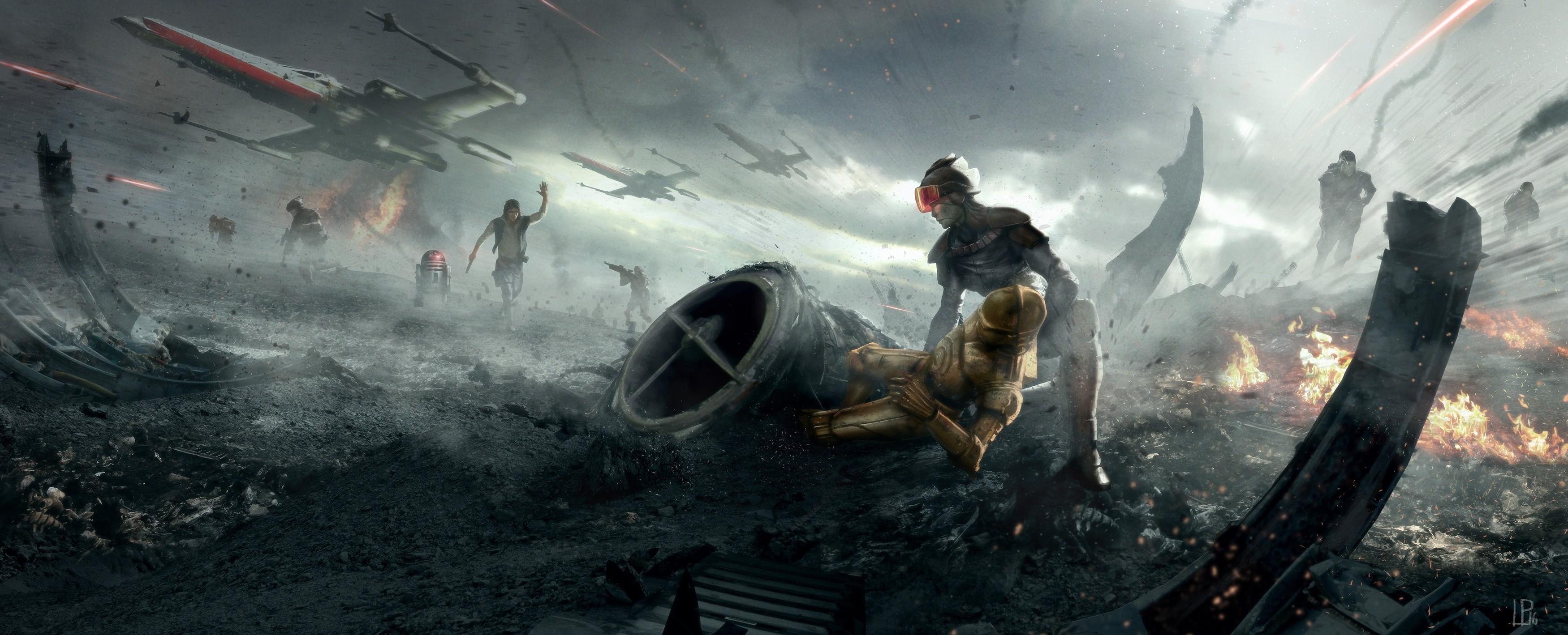 Wallpaper Star Wars Artwork Soldier Screenshot